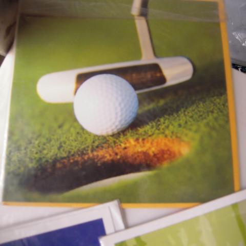 troc de  carte anniversaire sport       - j'ai encore 05 pareils, sur mytroc
