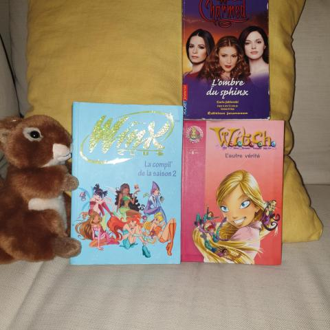 troc de  1)Charmed, 2) Witch, 3) Winx, sur mytroc