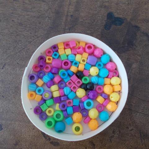 troc de  perles multicolor, sur mytroc