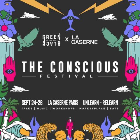 Invitation pour le Conscious Festival
