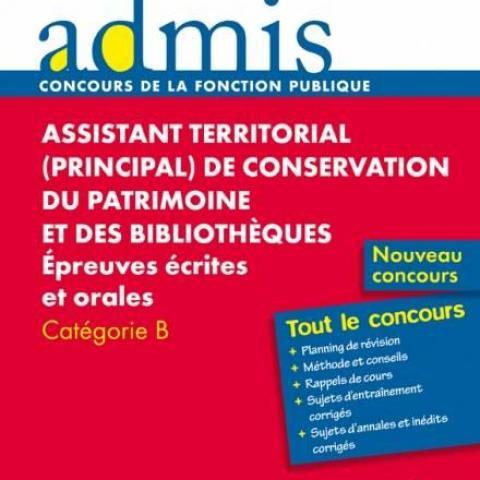troc de  Assistant territorial de conservation du patrimoine (catégorie B), sur mytroc