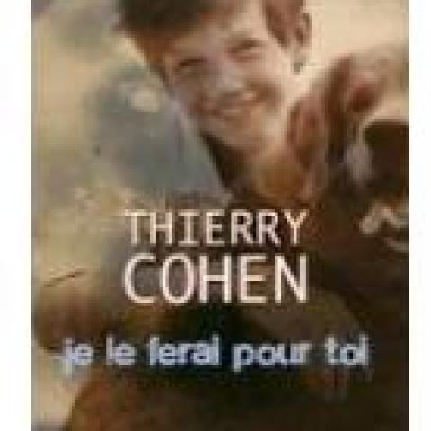 troc de  RESERVE - Livre - Je le ferai pour toi - Thierry Cohen, sur mytroc