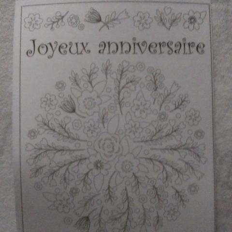 """troc de  Carte """"Joyeux anniversaire""""., sur mytroc"""