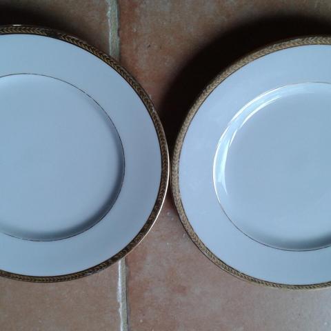 troc de  Lot de 2 assiettes Porcelaine de limoges, sur mytroc