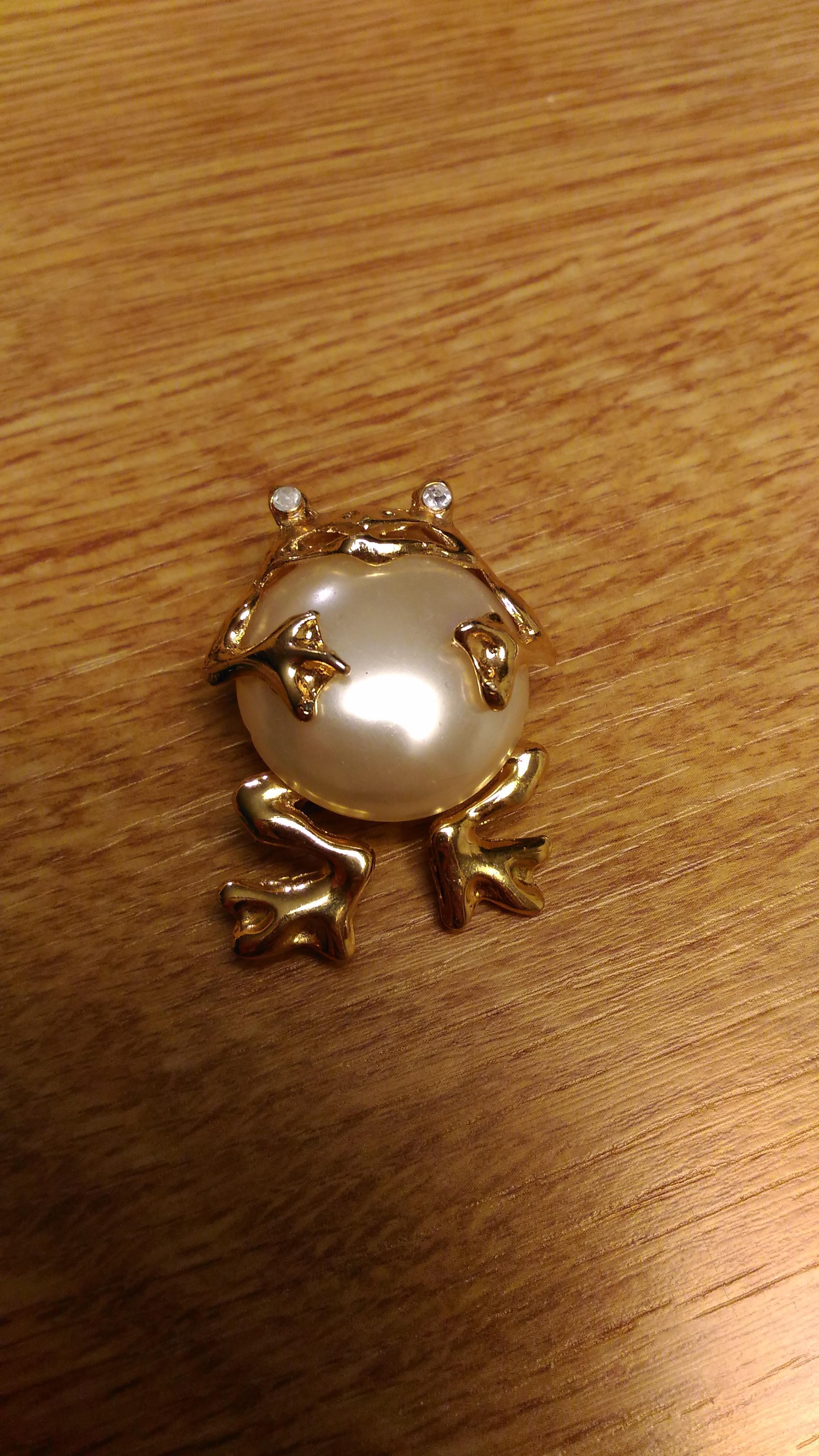 troc de troc broche grenouille image 0