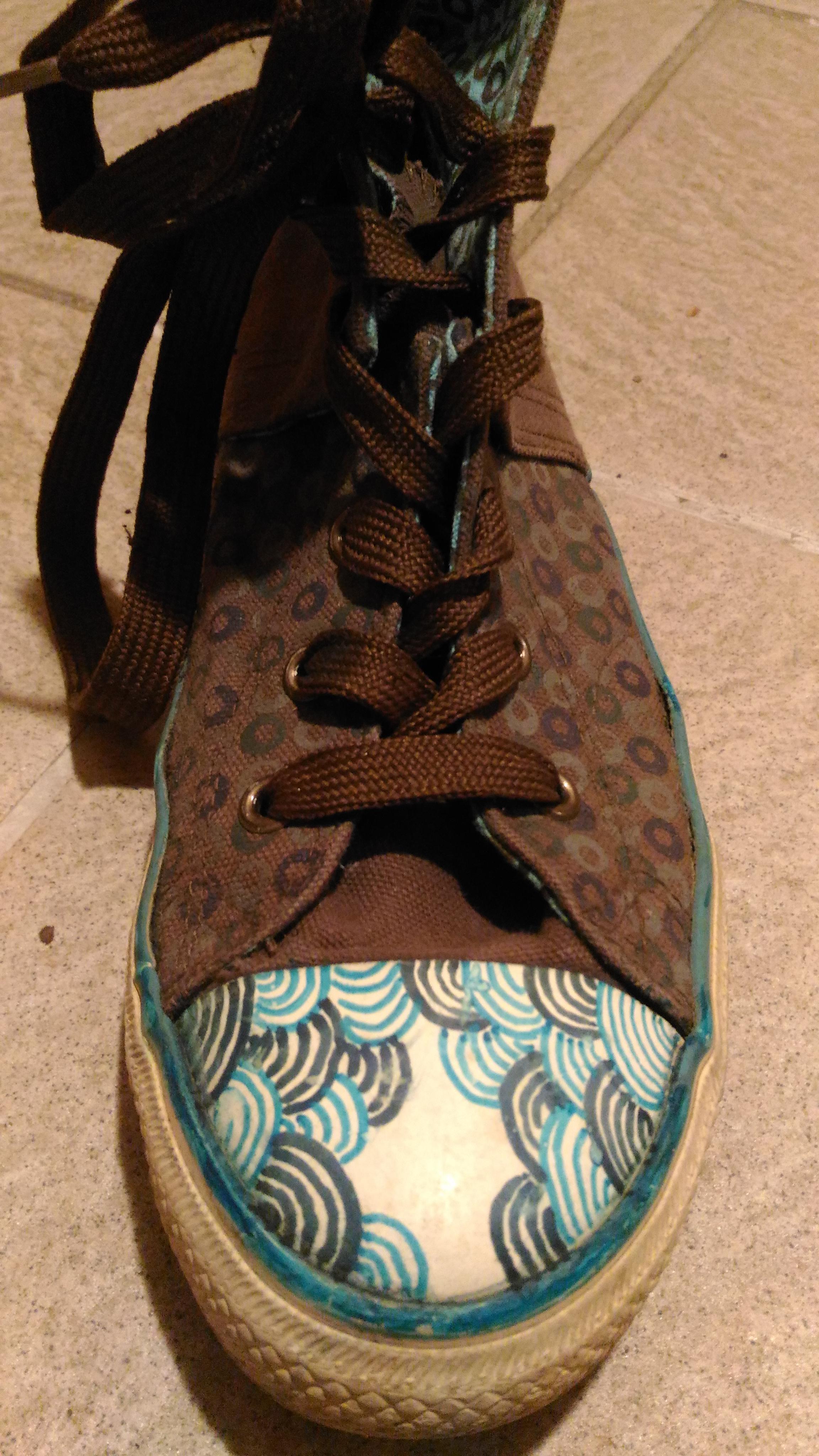 troc de troc chaussures type converse image 1