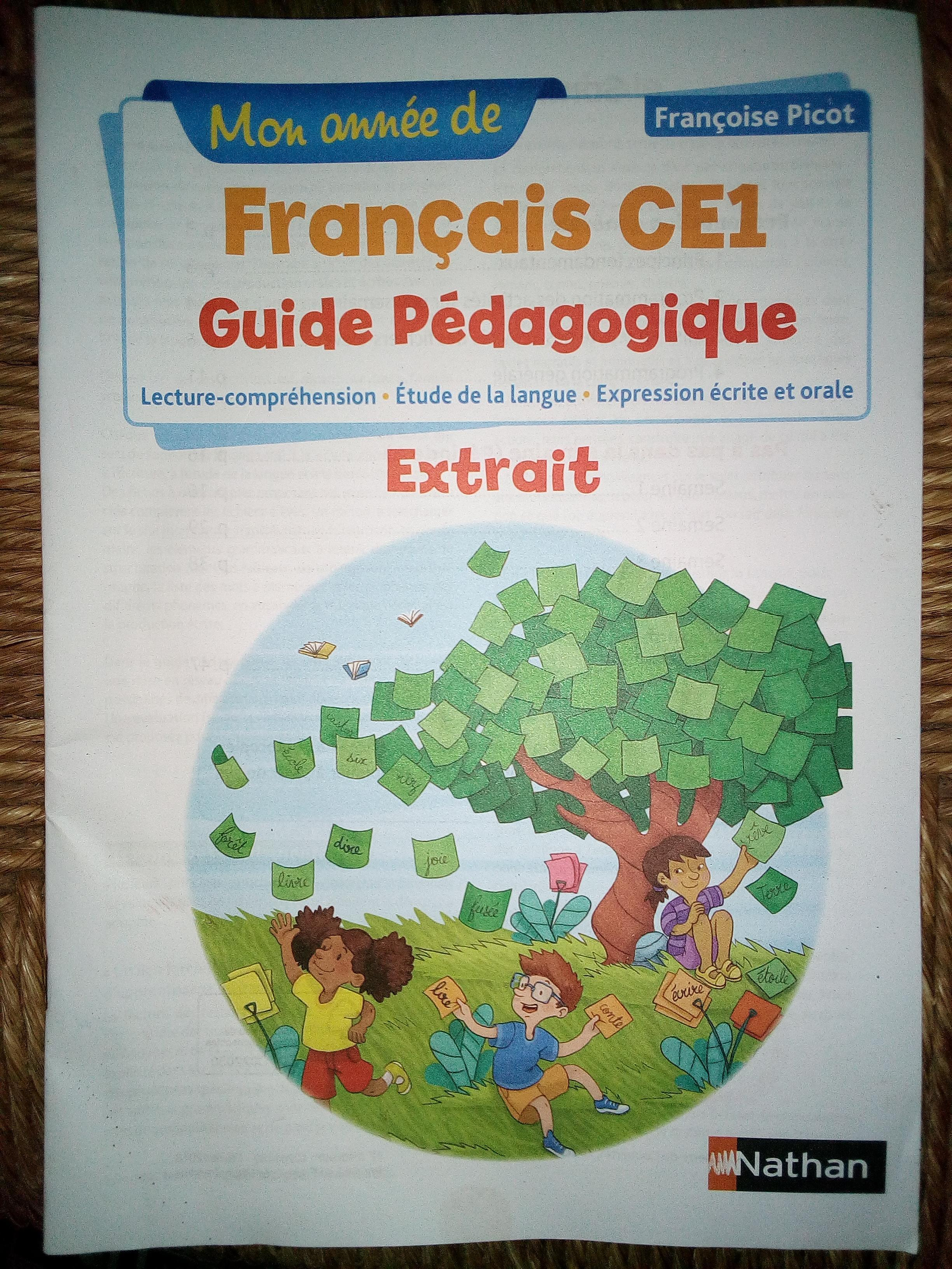 troc de troc guide pédagogique français ce1 image 0