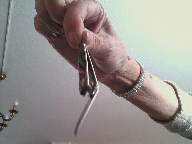 troc de troc coupe ongles argenté neuf image 1