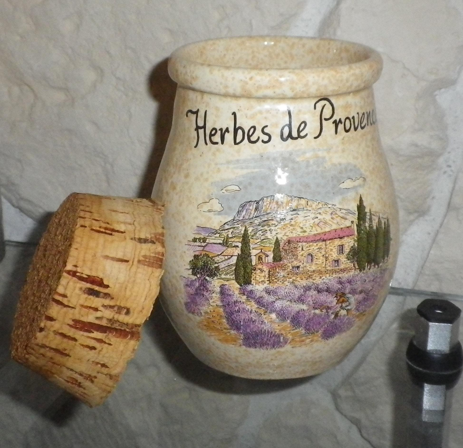 troc de troc gros pot à épices ou herbes image 1