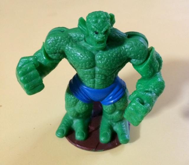 troc de troc figurine héros marvel - le méchant vert - mcdo 2008 - 7 cm image 0