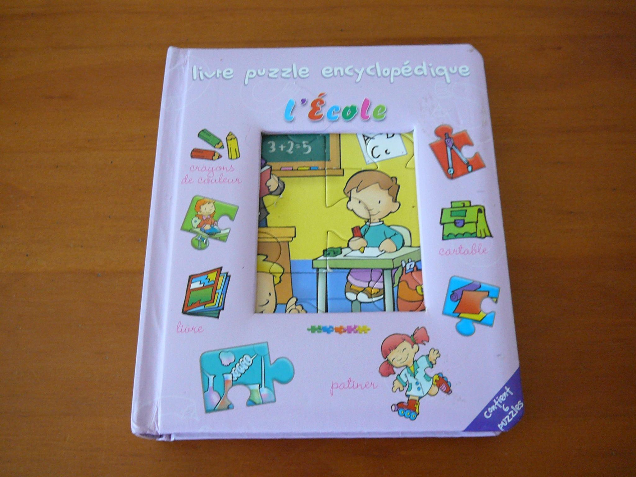 troc de troc livre imagier et puzzles image 0