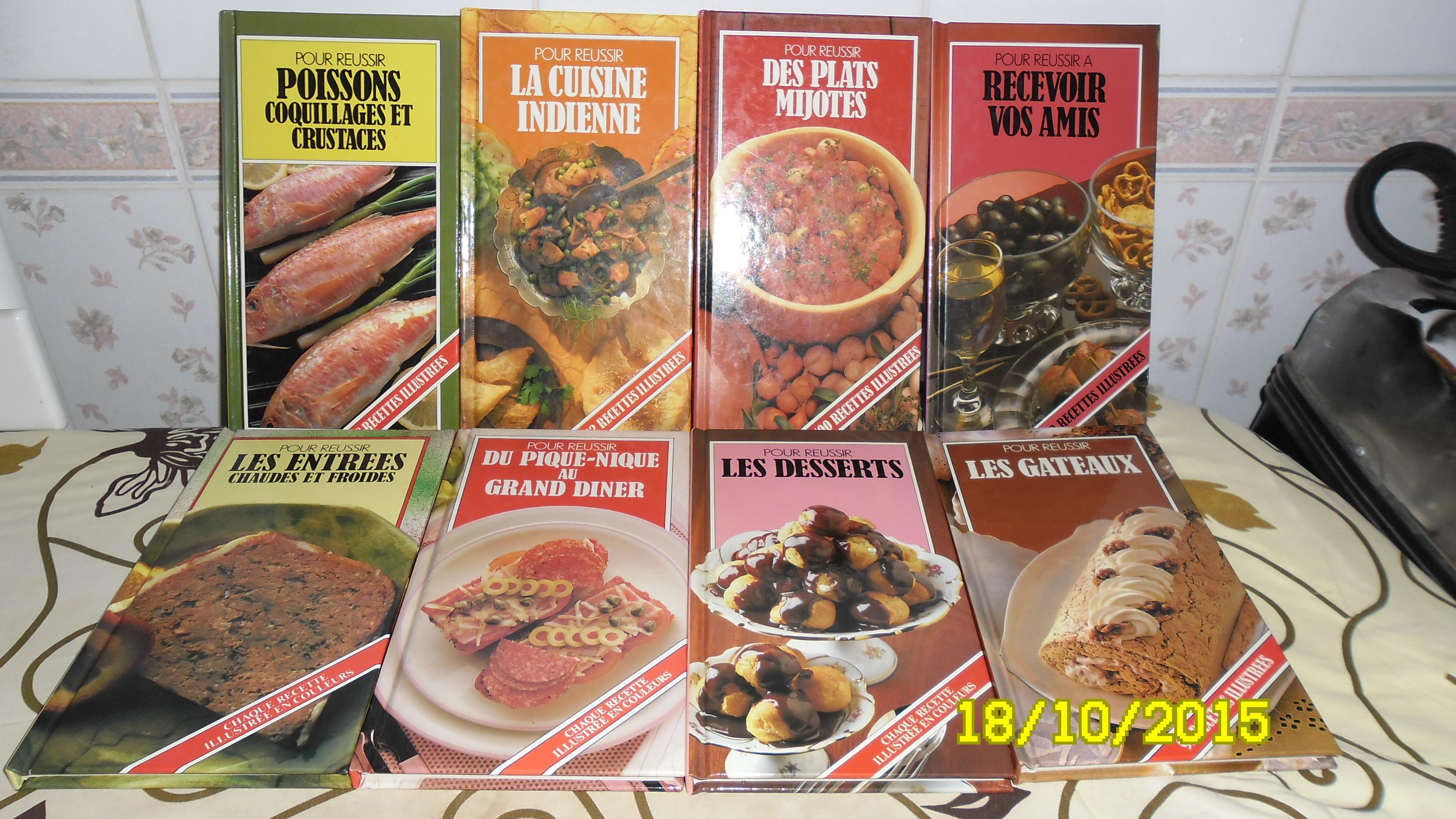 troc de troc 7 petits livres de cuisines spécialisées image 0