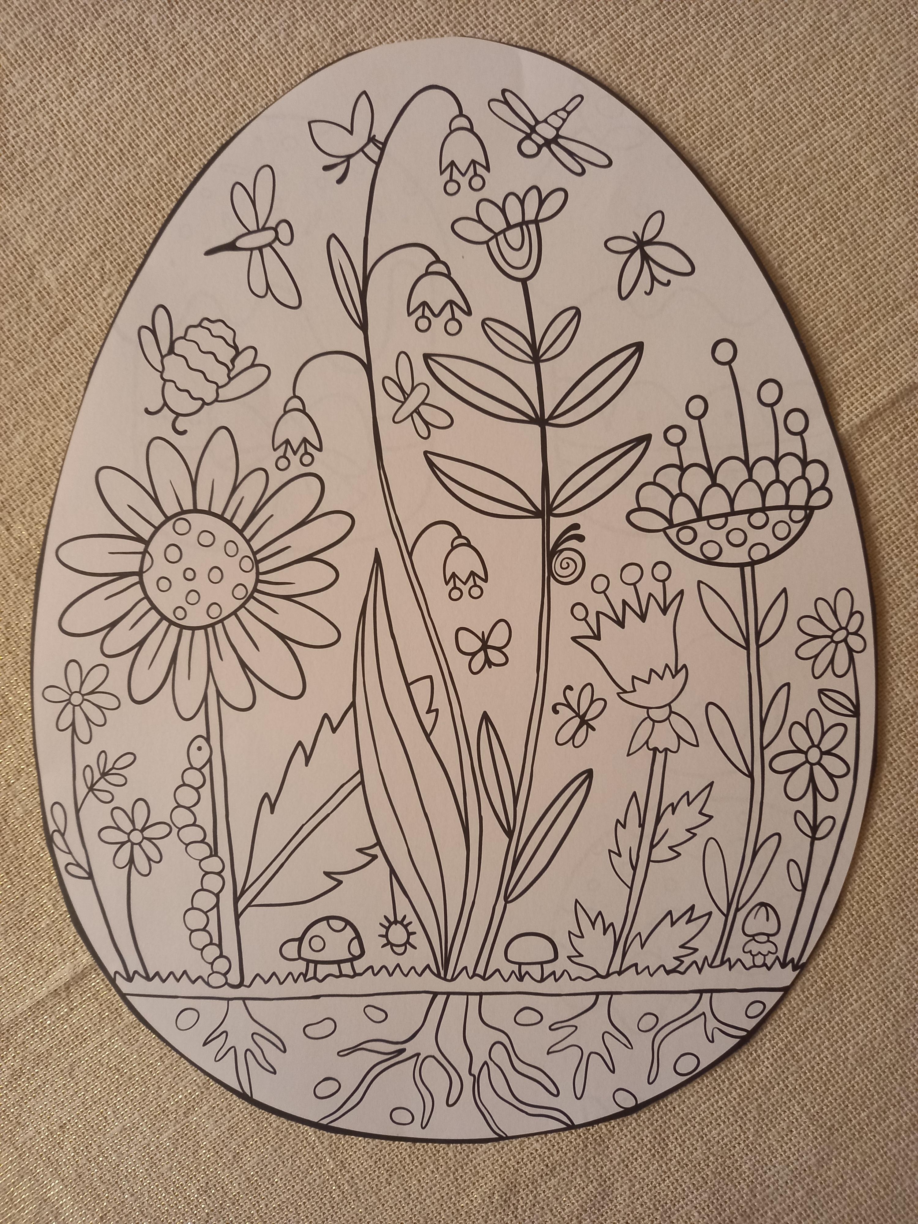 """troc de troc 4 coloriages spécial """"pâques"""". image 1"""