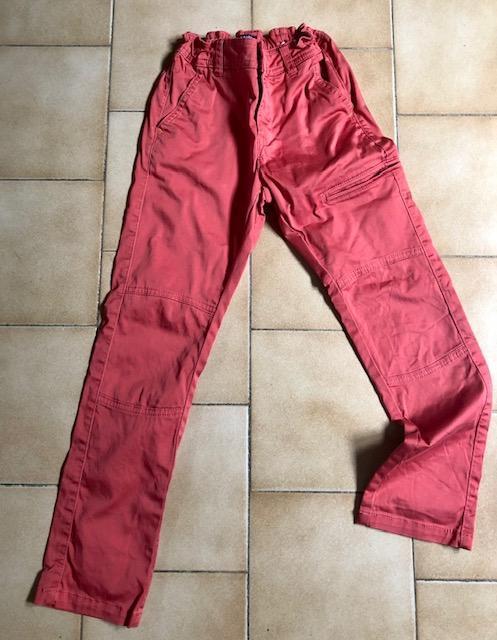 troc de troc pantalon corail orange slim fit 8 ans image 0