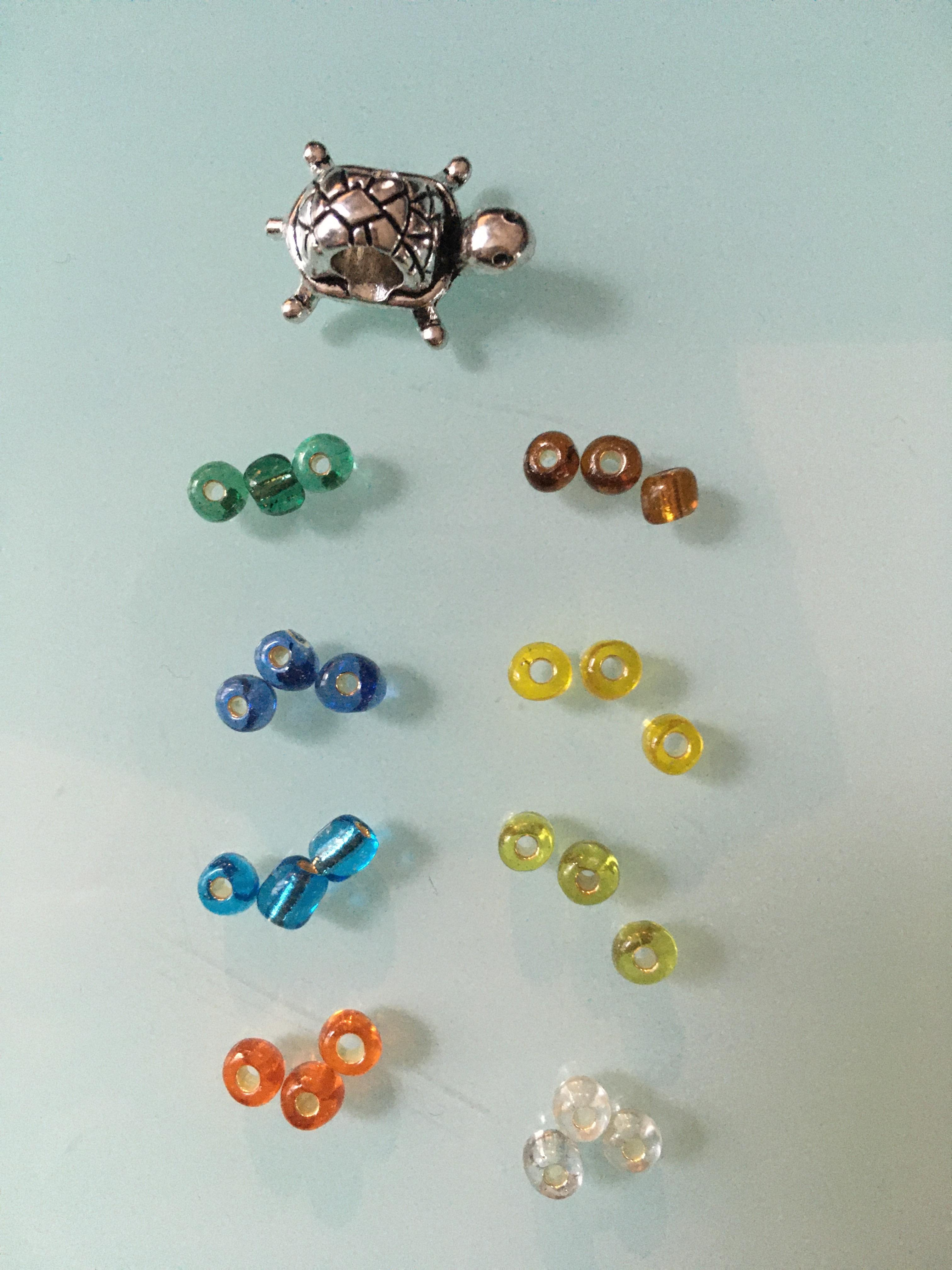 troc de troc lot tortue : 8 marques verre image 0