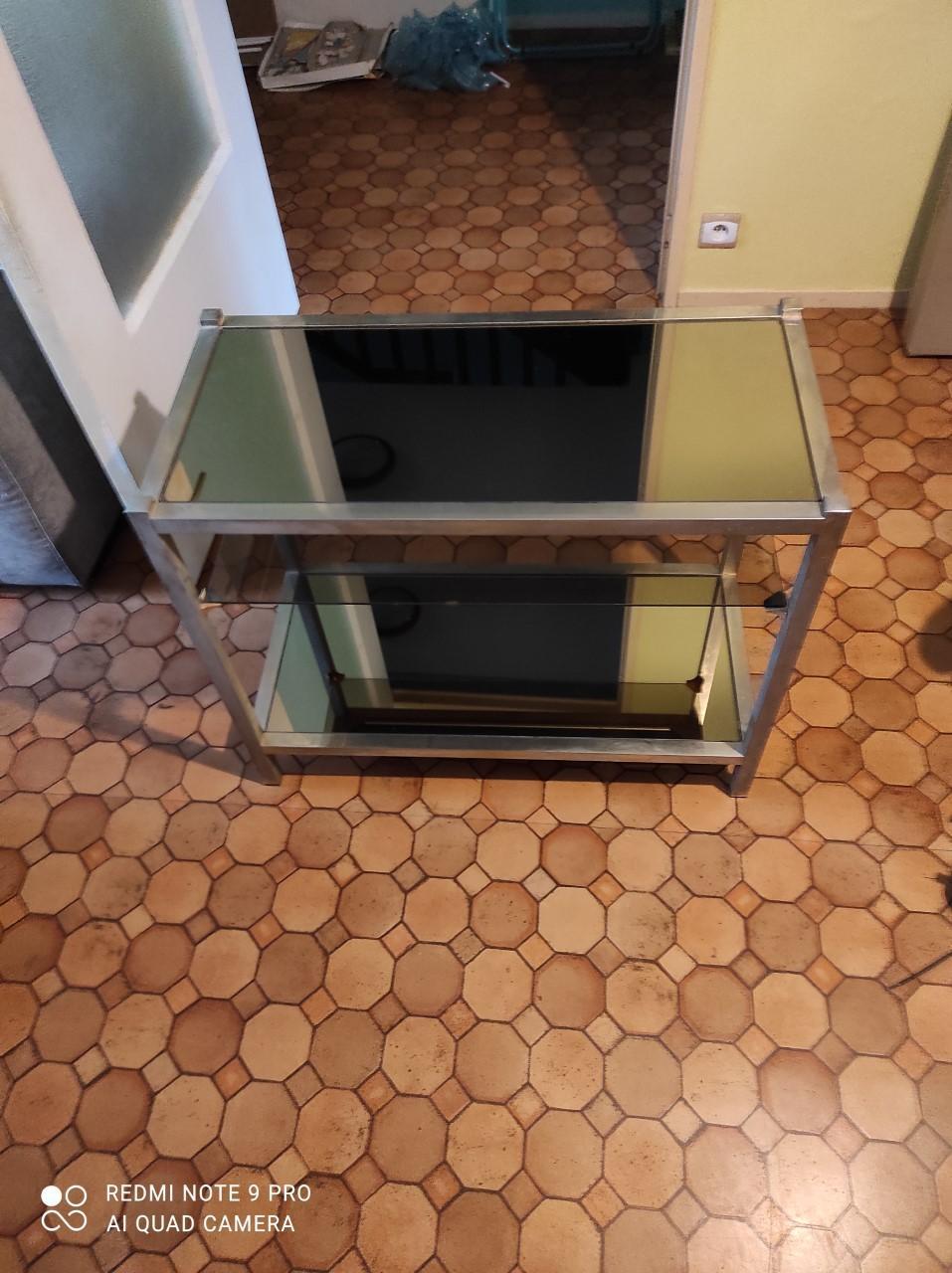 troc de troc table basse en verre image 0