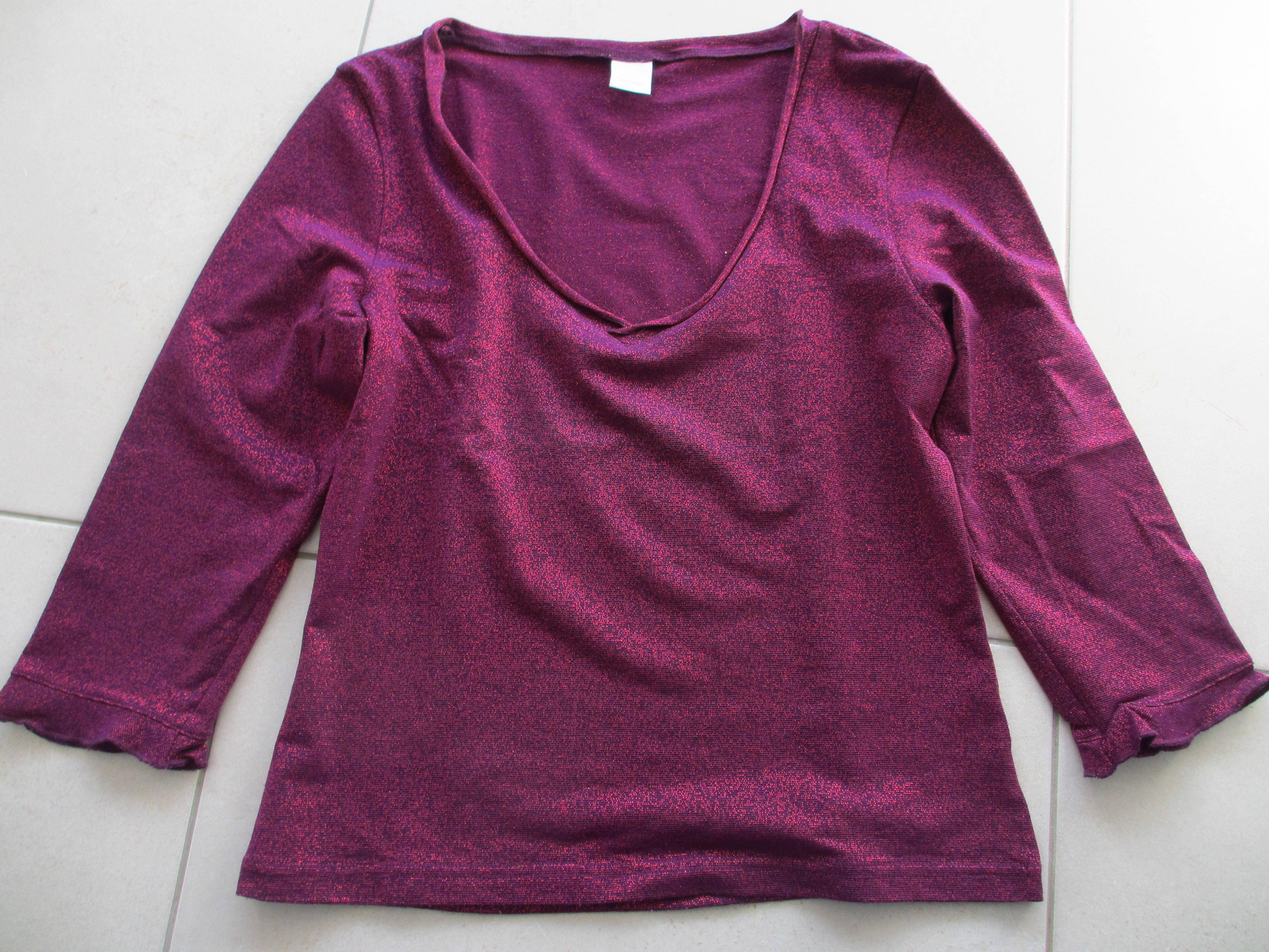 troc de troc t shirt avec reflets image 0