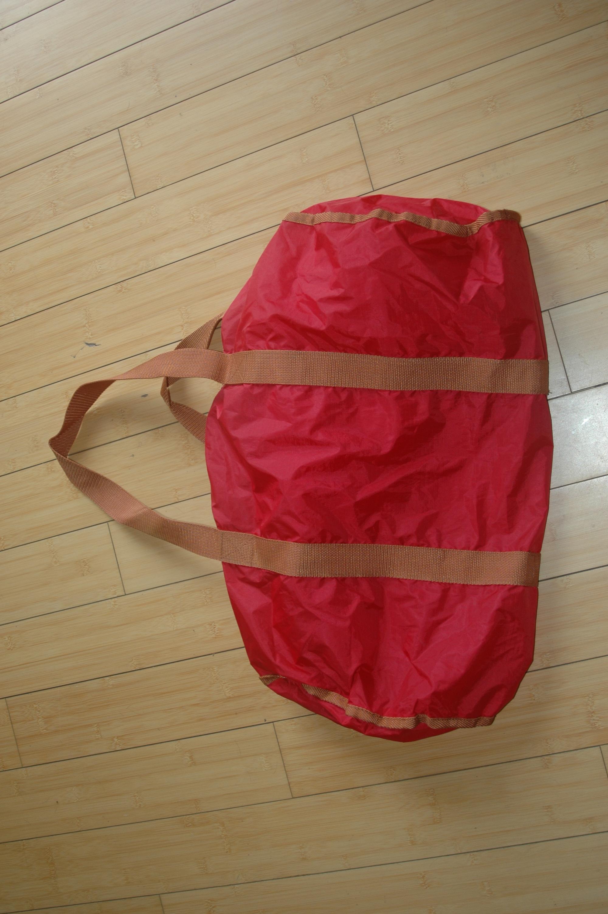 troc de troc sac nylon pliable de dépannage image 0