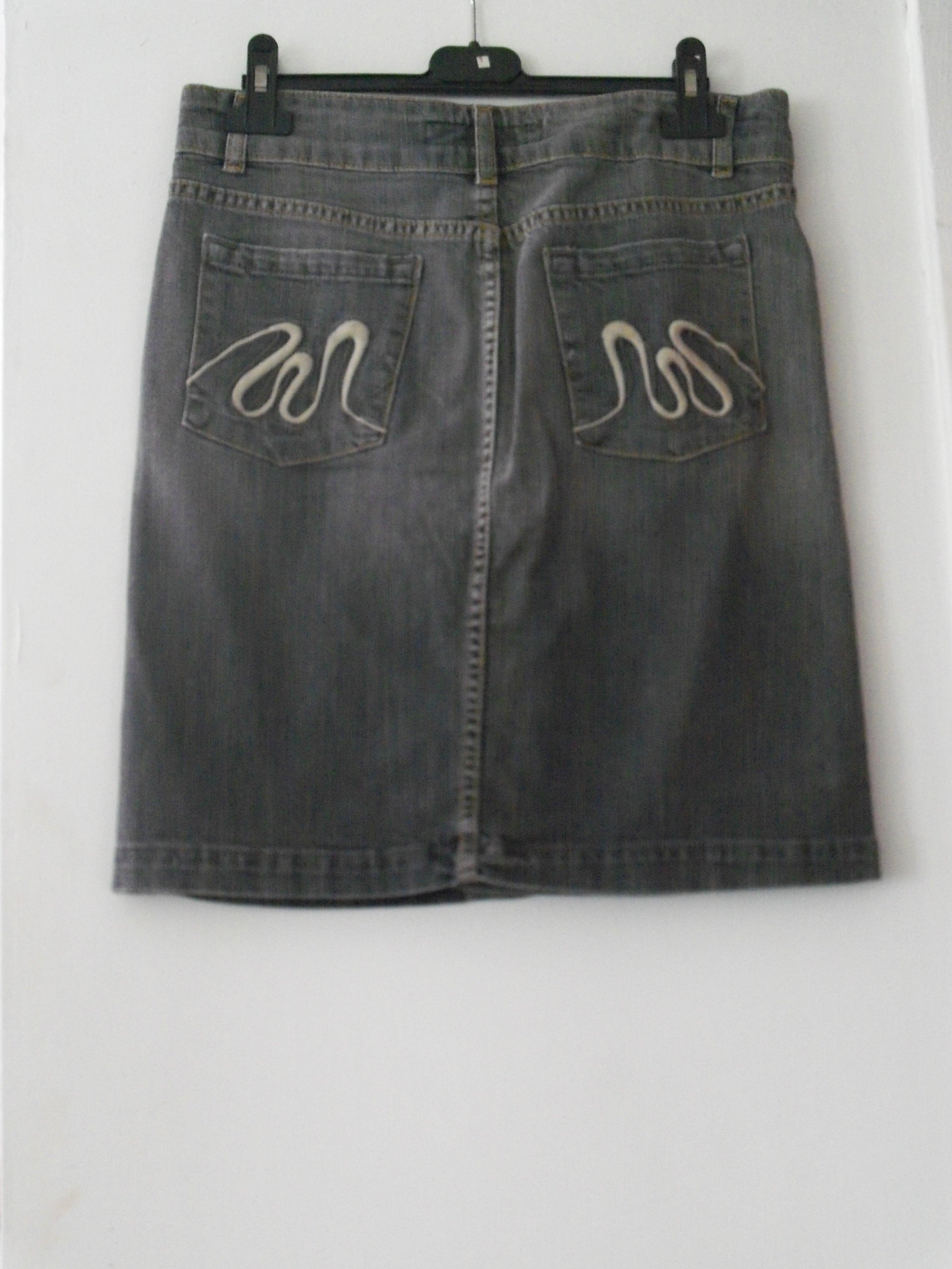 troc de troc jupe mango en jeans neuve t.38 image 1