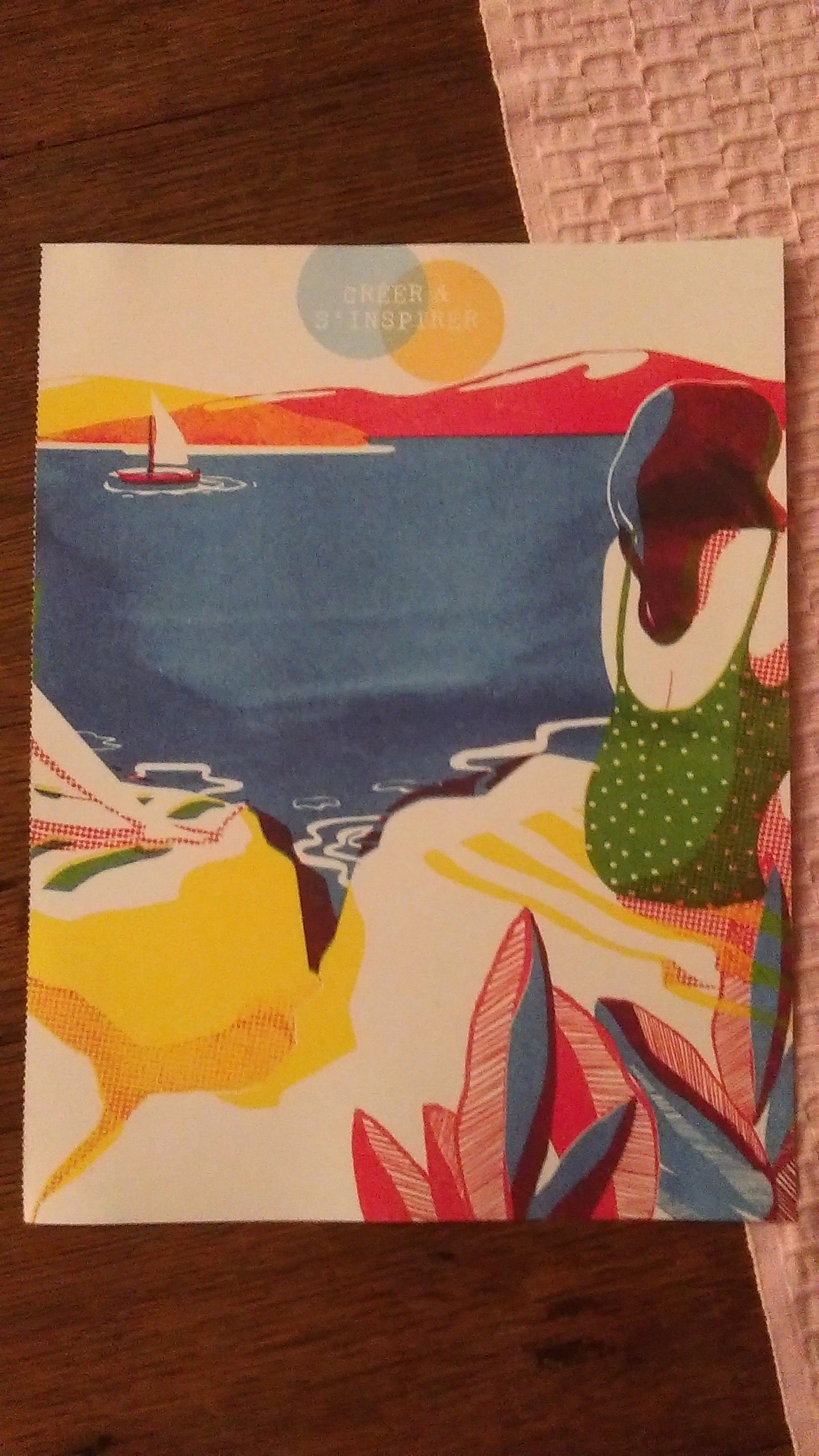 """troc de troc affiche """"a la mer"""". image 0"""