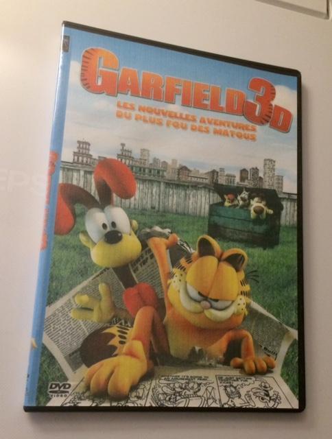 troc de troc dvd film animation garfield 3d image 0