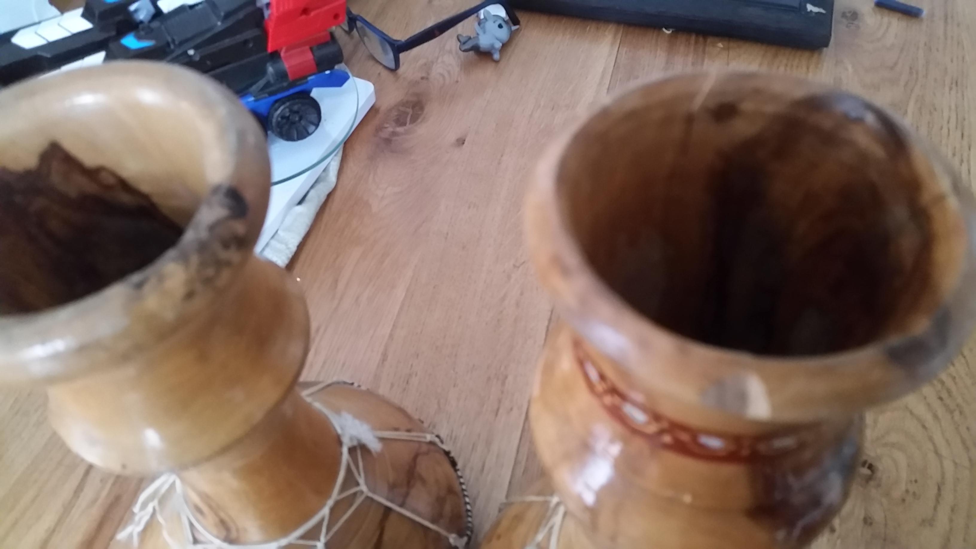 troc de troc 2 tambours 27 cms image 2