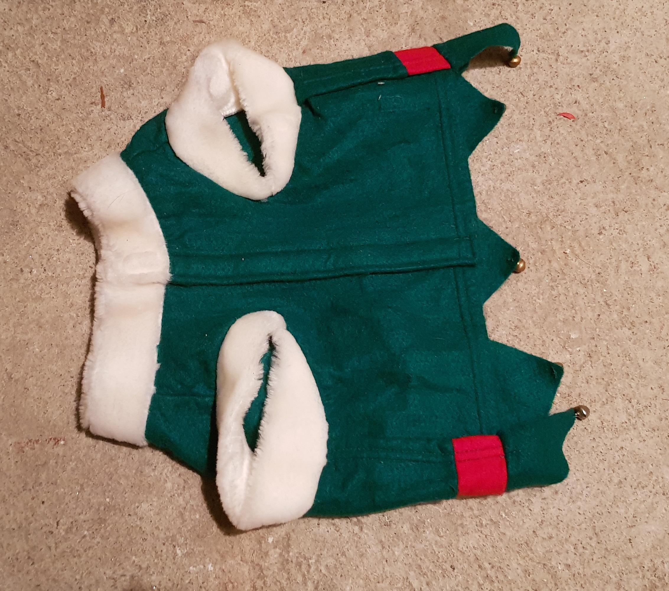troc de troc manteau lutin de noël chien image 1