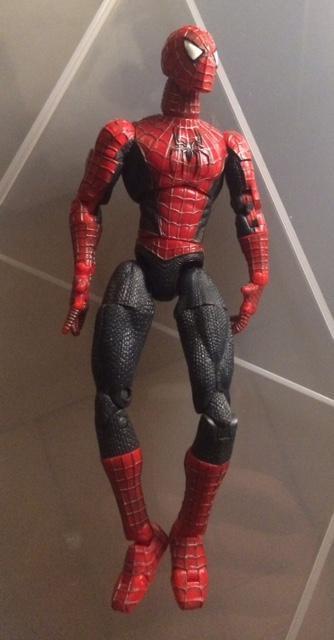 troc de troc lot 2 figurines articulées marvel spiderman - 15 cm image 1
