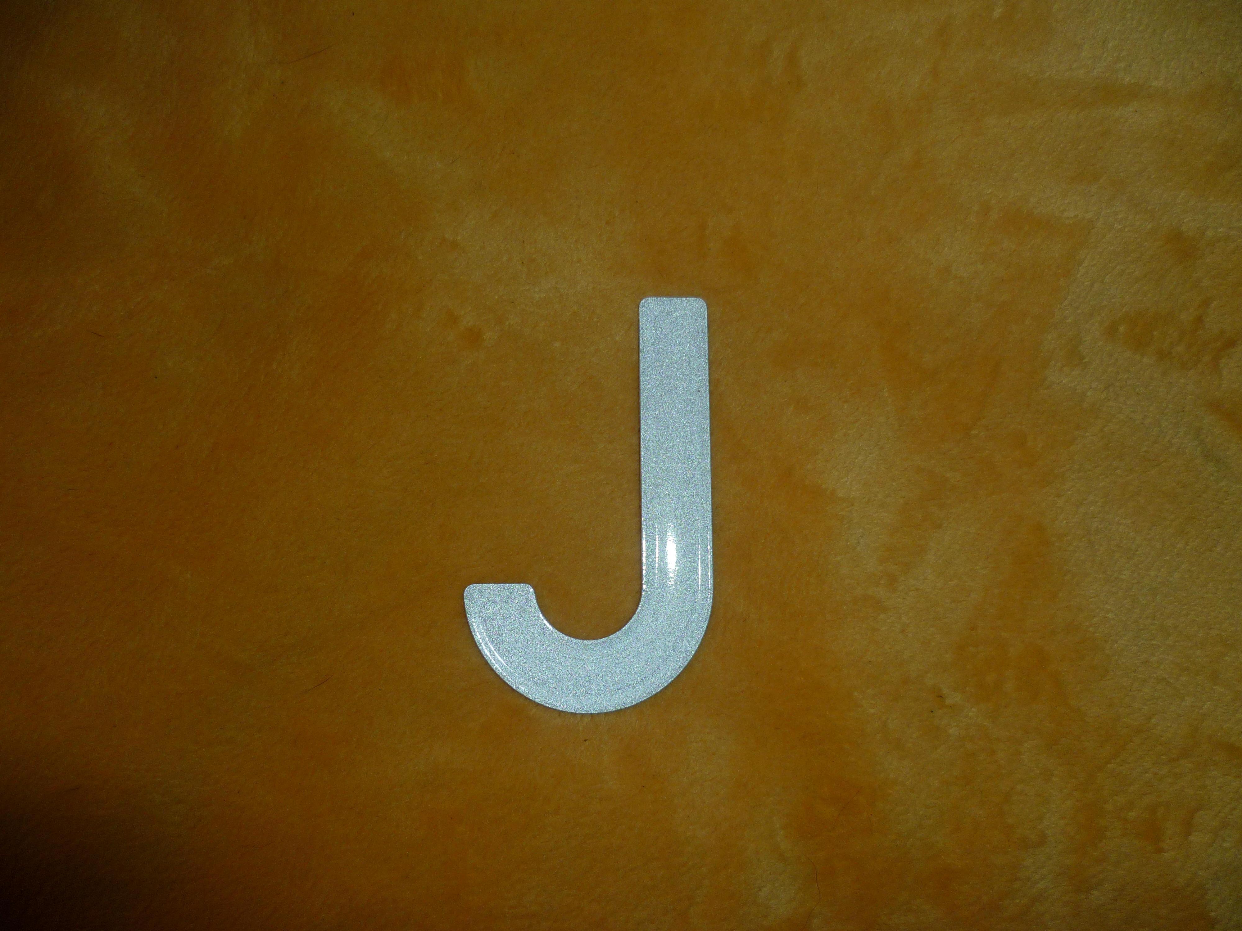 troc de troc lettre j en métal image 0