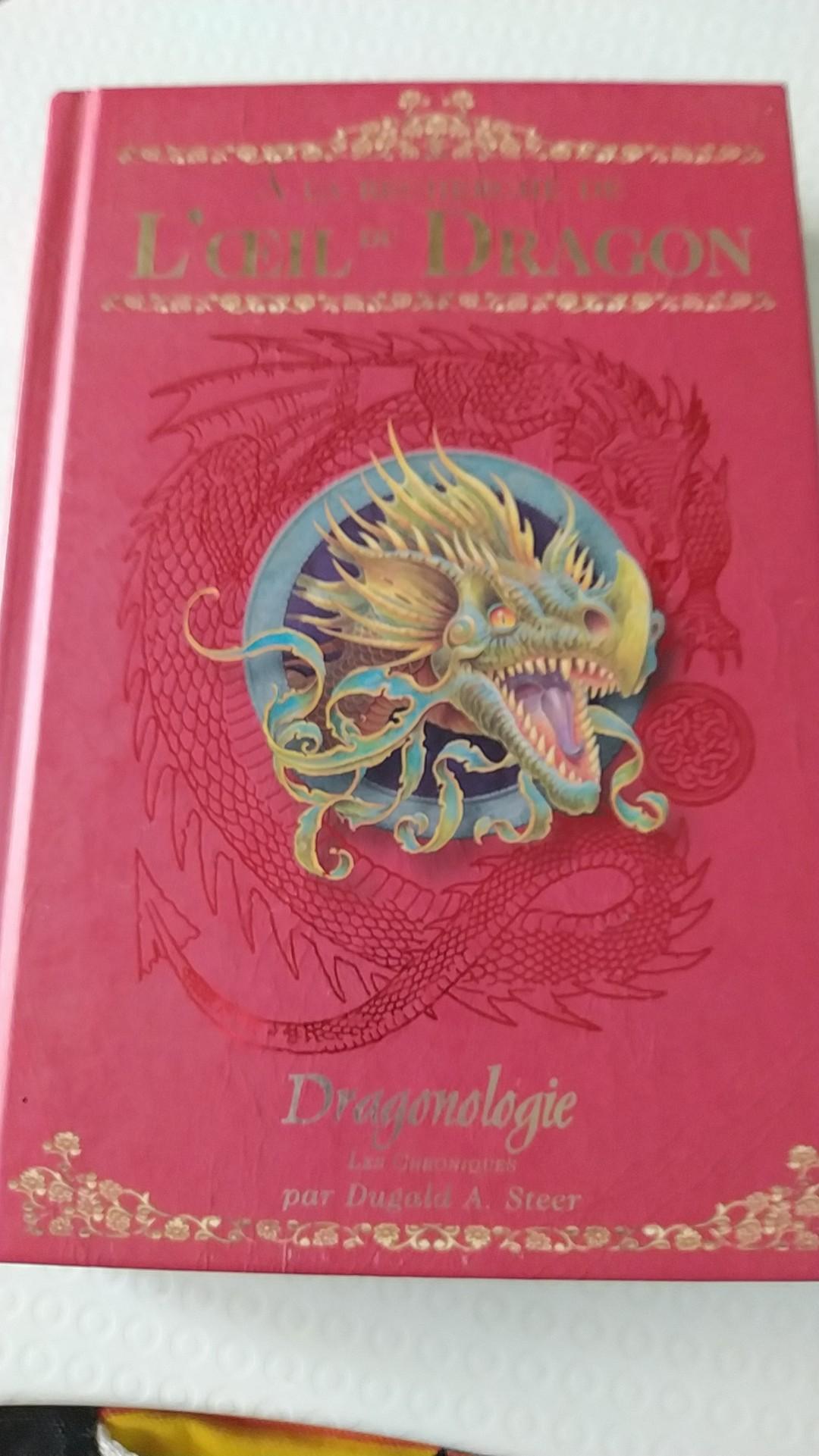 troc de troc donne deux romans de dragonologie image 0
