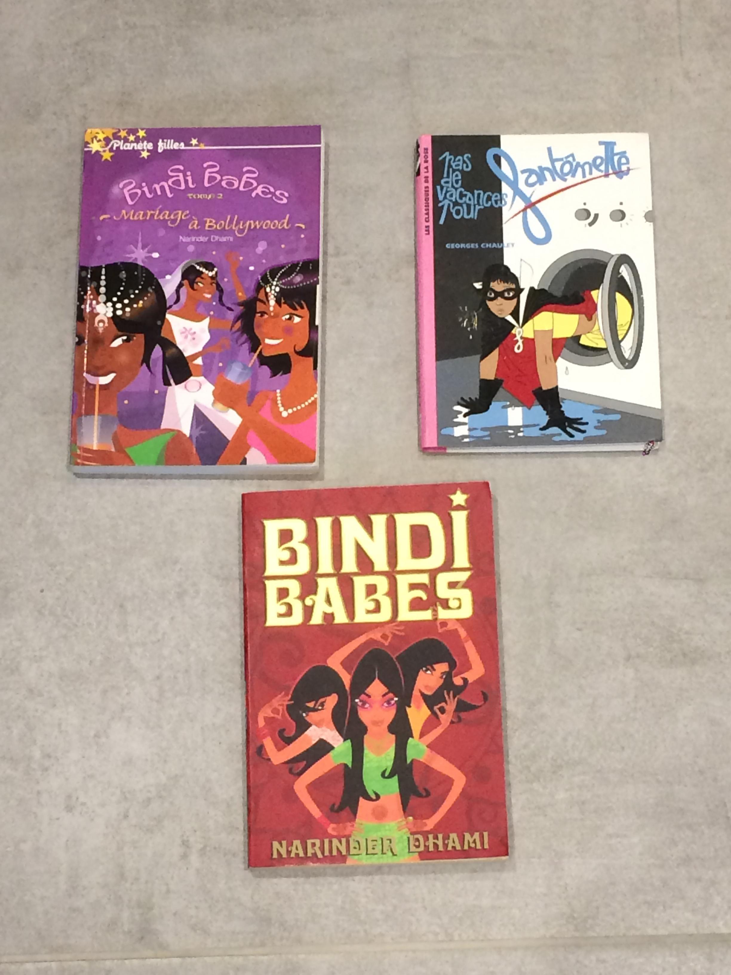 troc de troc 3 romans jeunesse dont 1 en anglais image 0
