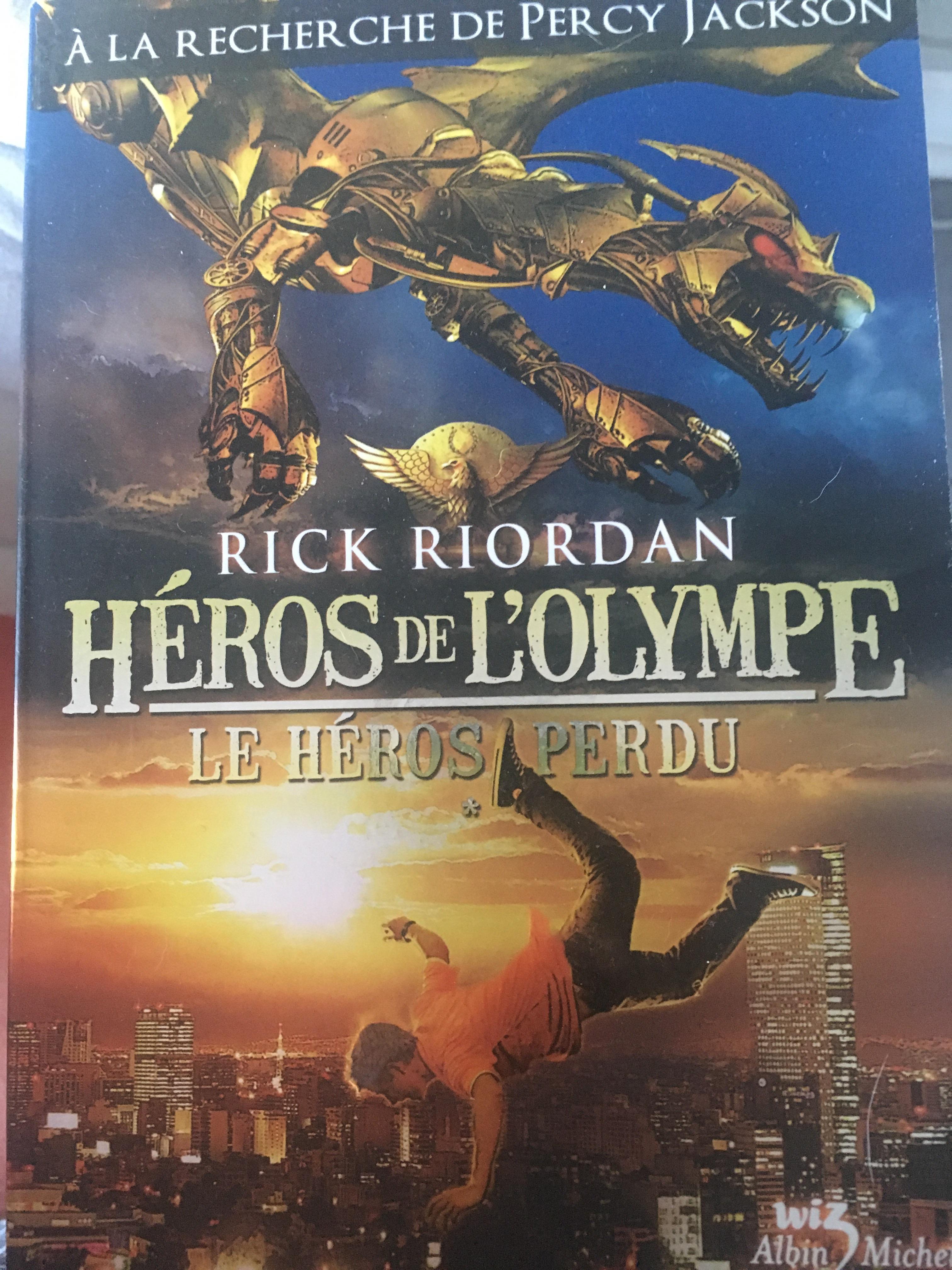 troc de troc livre hero de l'olympe , le héros perdu de rick riordan image 0