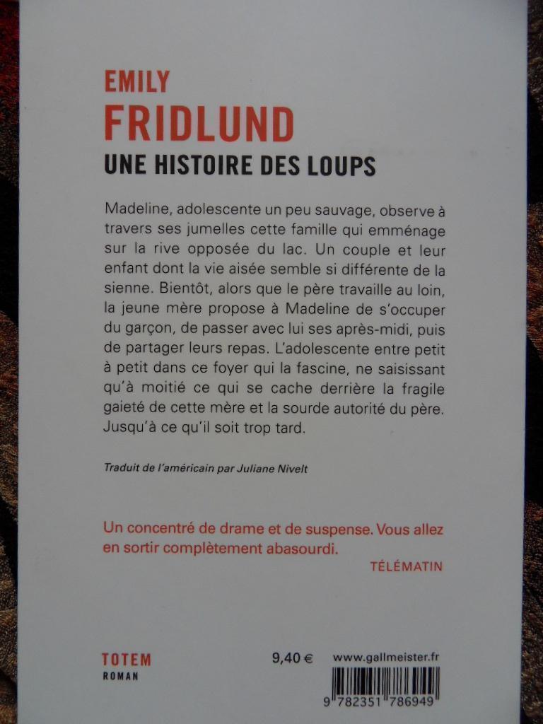 """troc de troc roman """"une histoire des loups"""" image 1"""