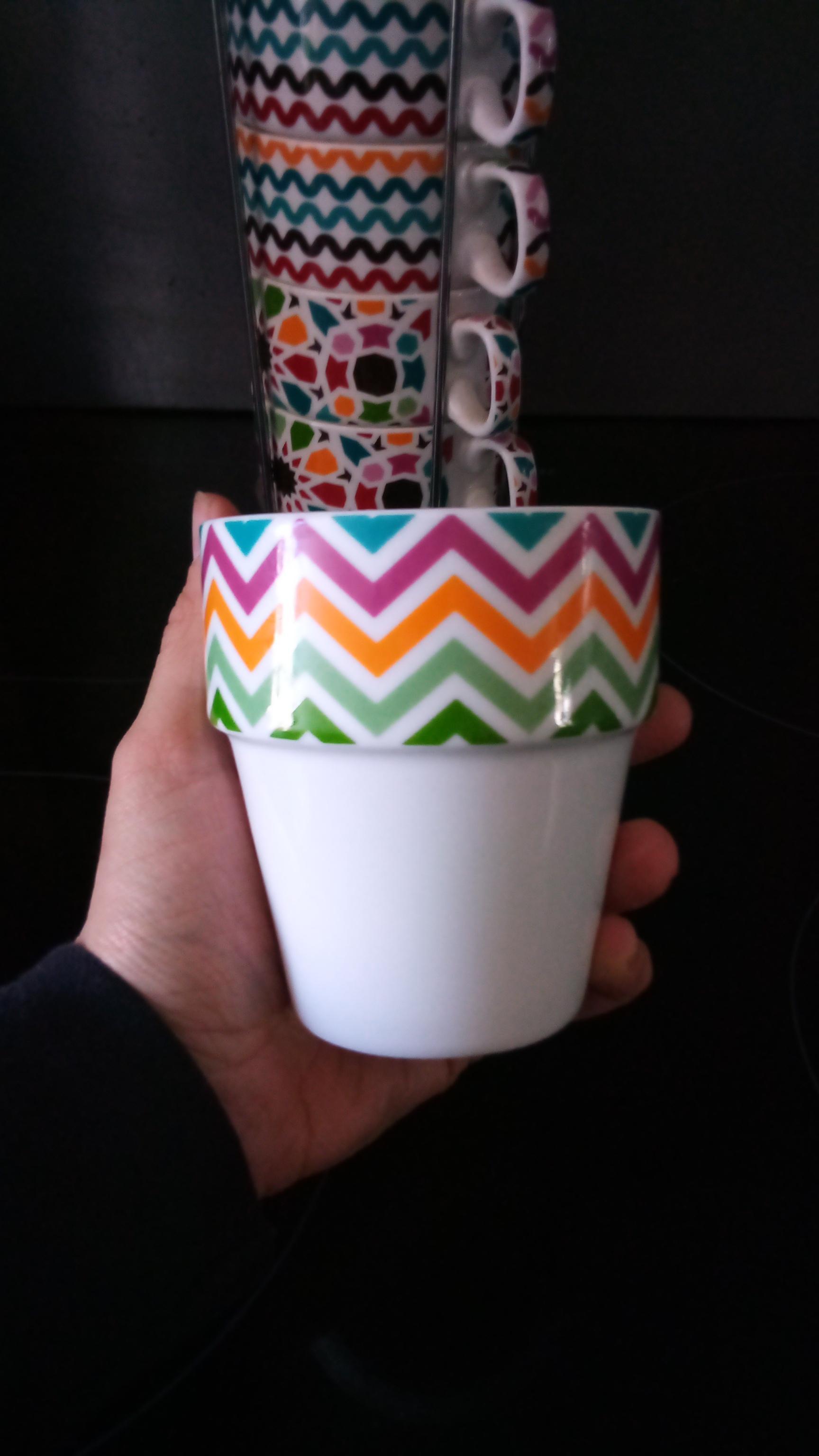 troc de troc 6 tasses avec support image 1