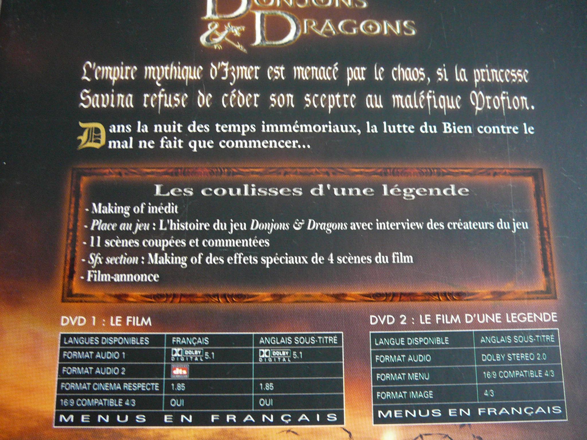 troc de troc dvd donjons & dragons image 2