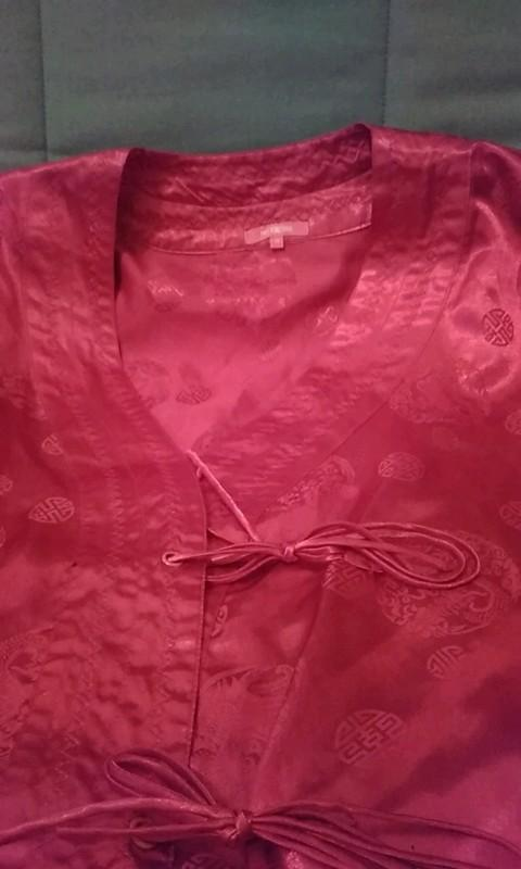 troc de troc kimono satiné t36 image 1