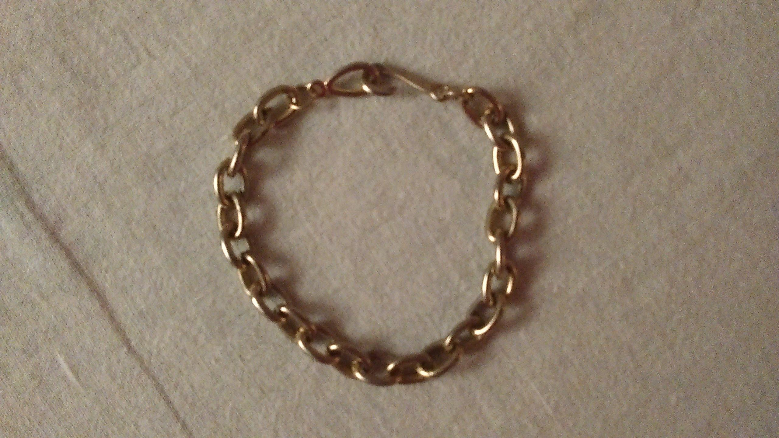 troc de troc bracelet argenté. image 1
