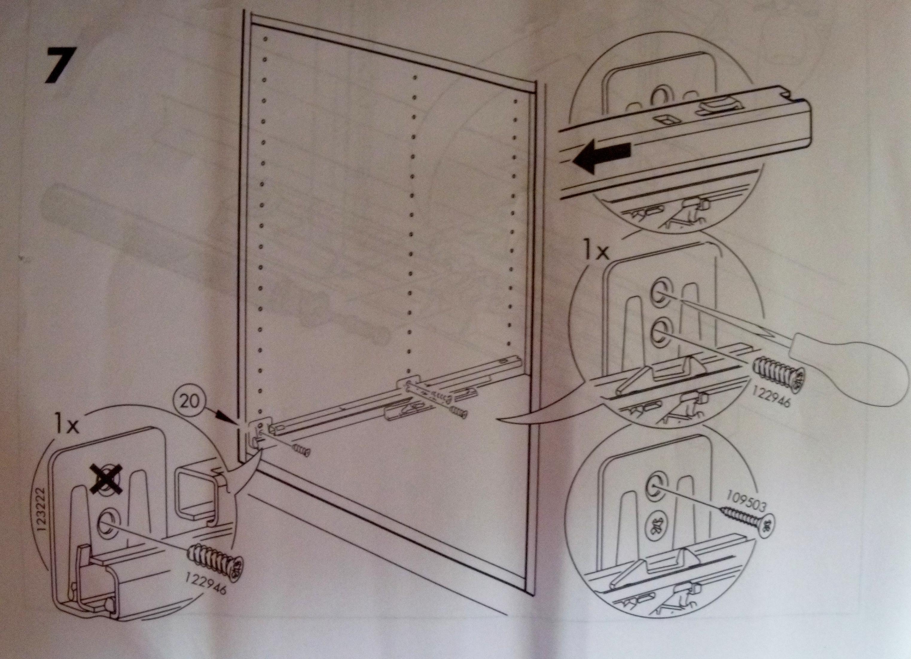troc de troc paire de coulisses pour tiroir - très bon état - 2/2 image 1