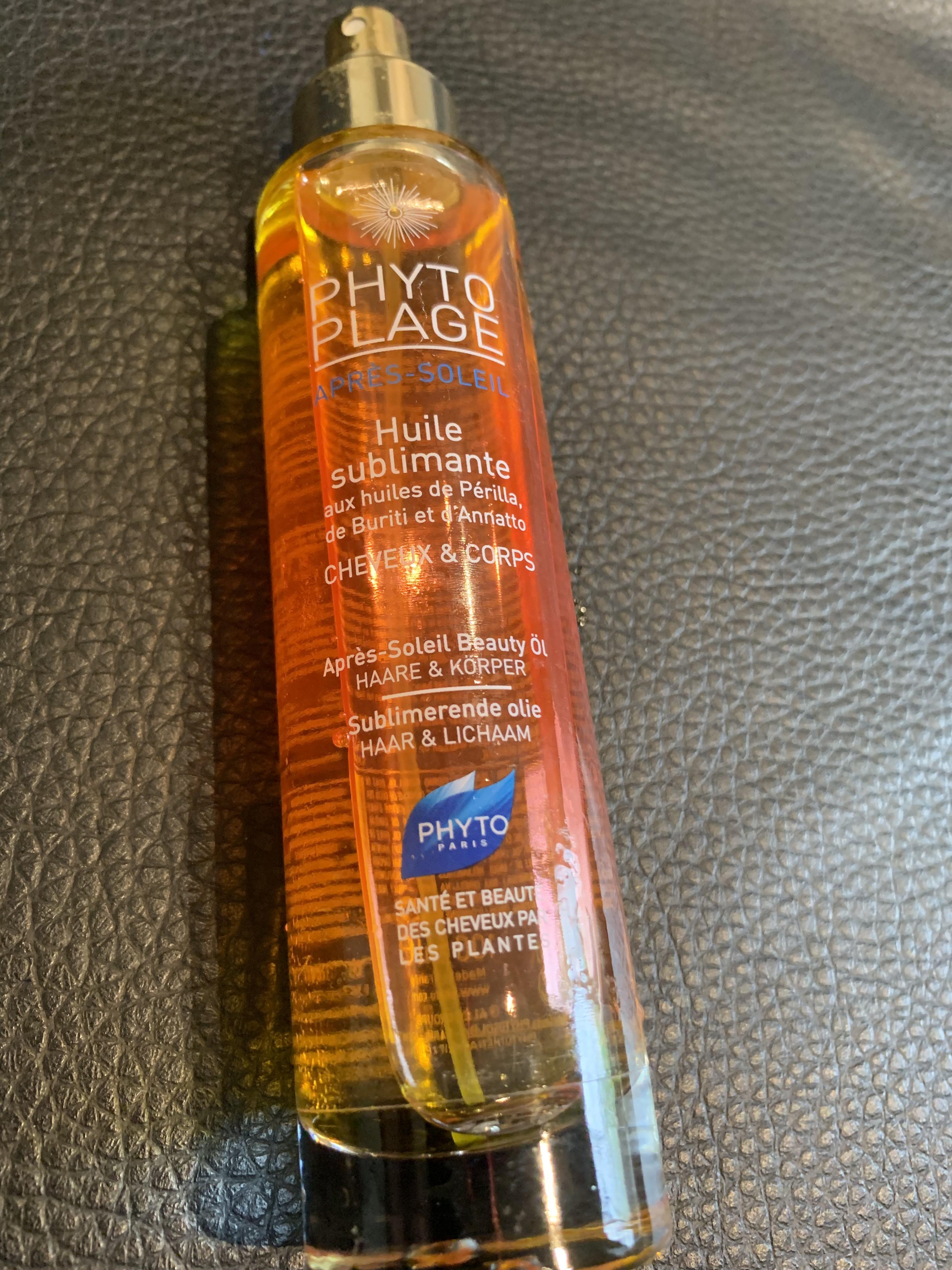 troc de troc huile phytoplage ( plage ou piscine) image 0