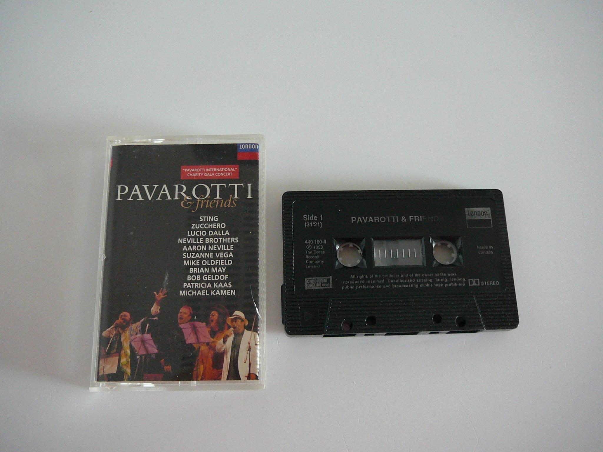 troc de troc cassette audio pavarotti & friends image 0