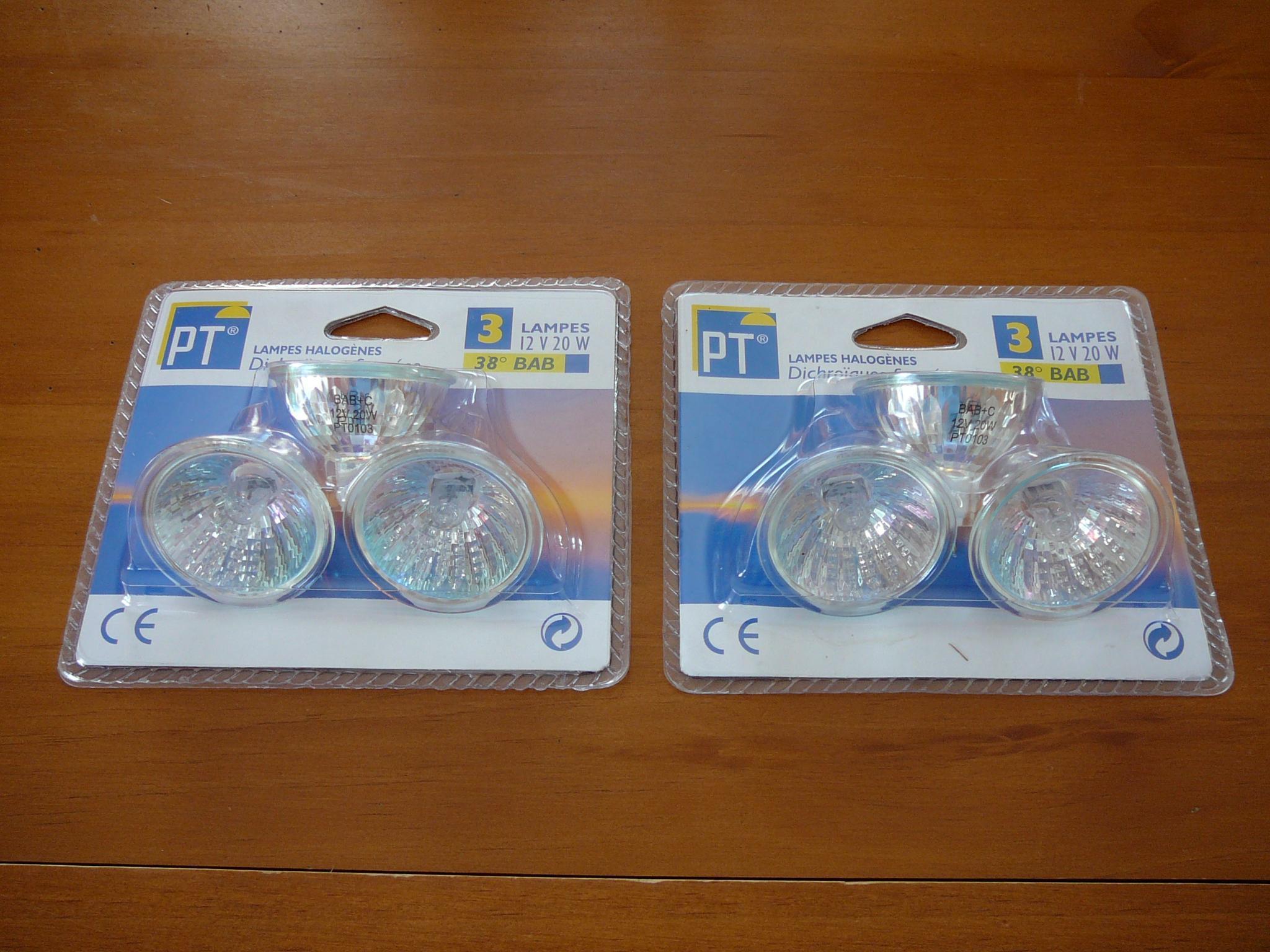 troc de troc lot neufs d'ampoules image 1