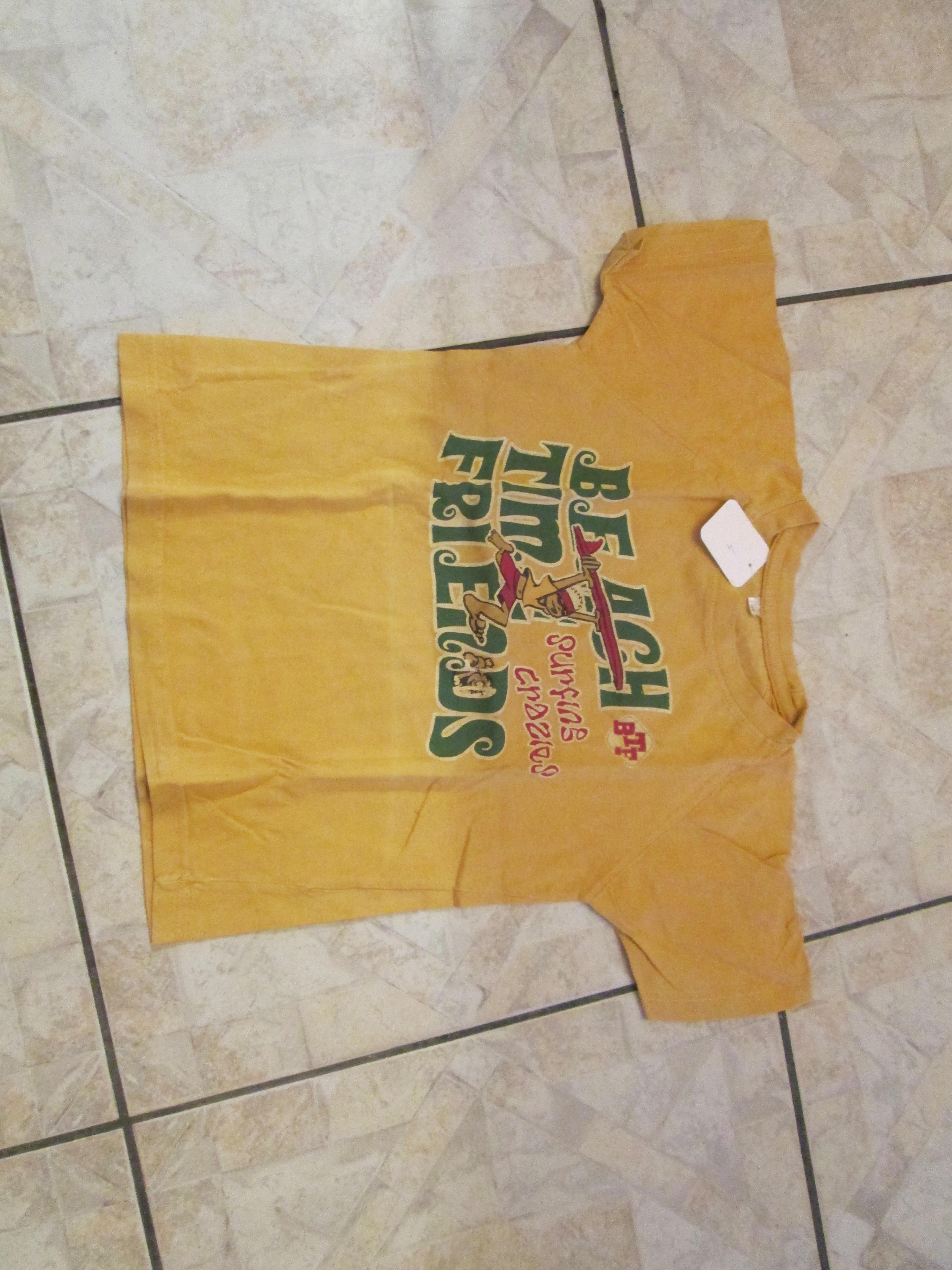 troc de troc tee shirt jaune 8 ans 3 noisettes image 0