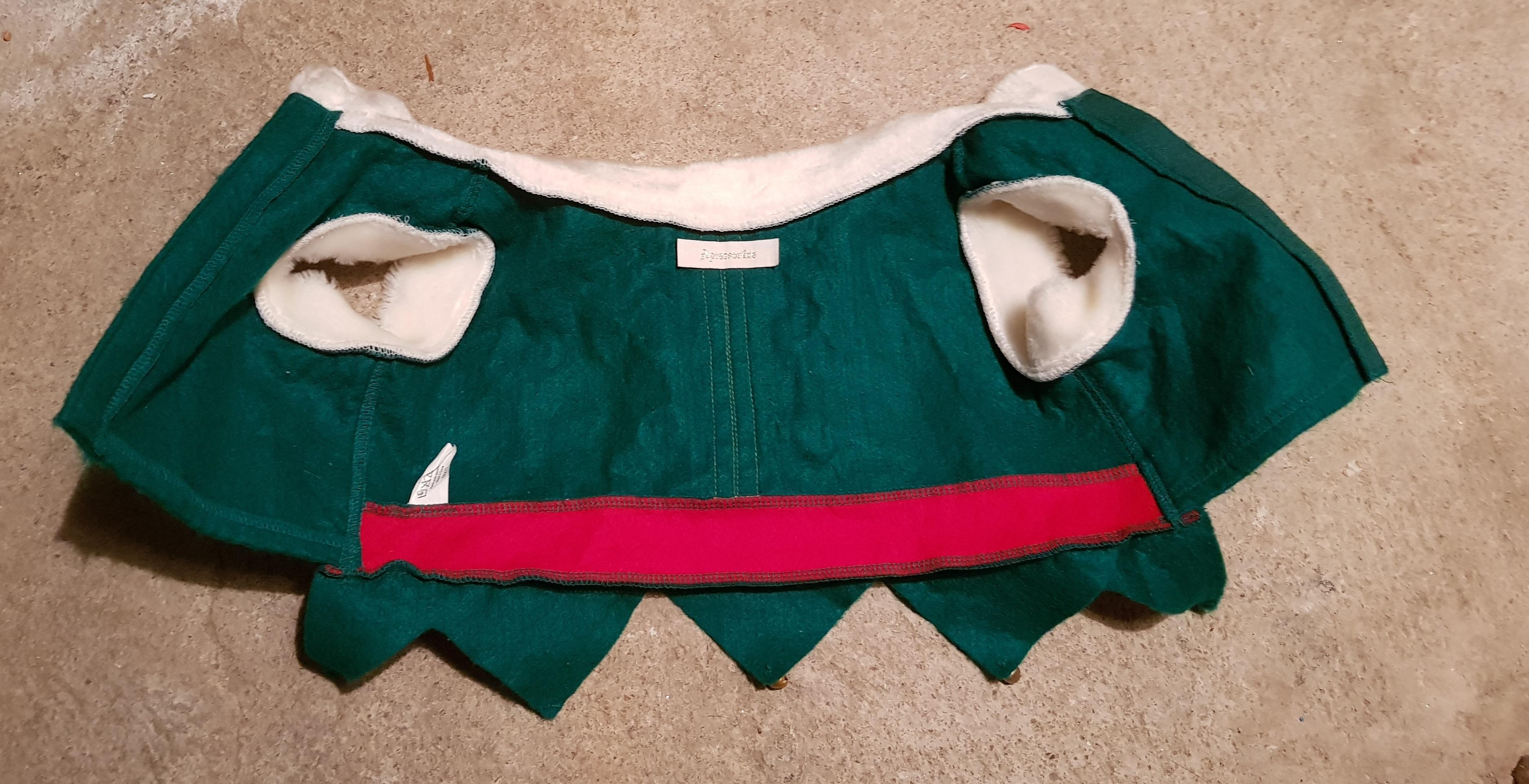 troc de troc manteau lutin de noël chien image 2