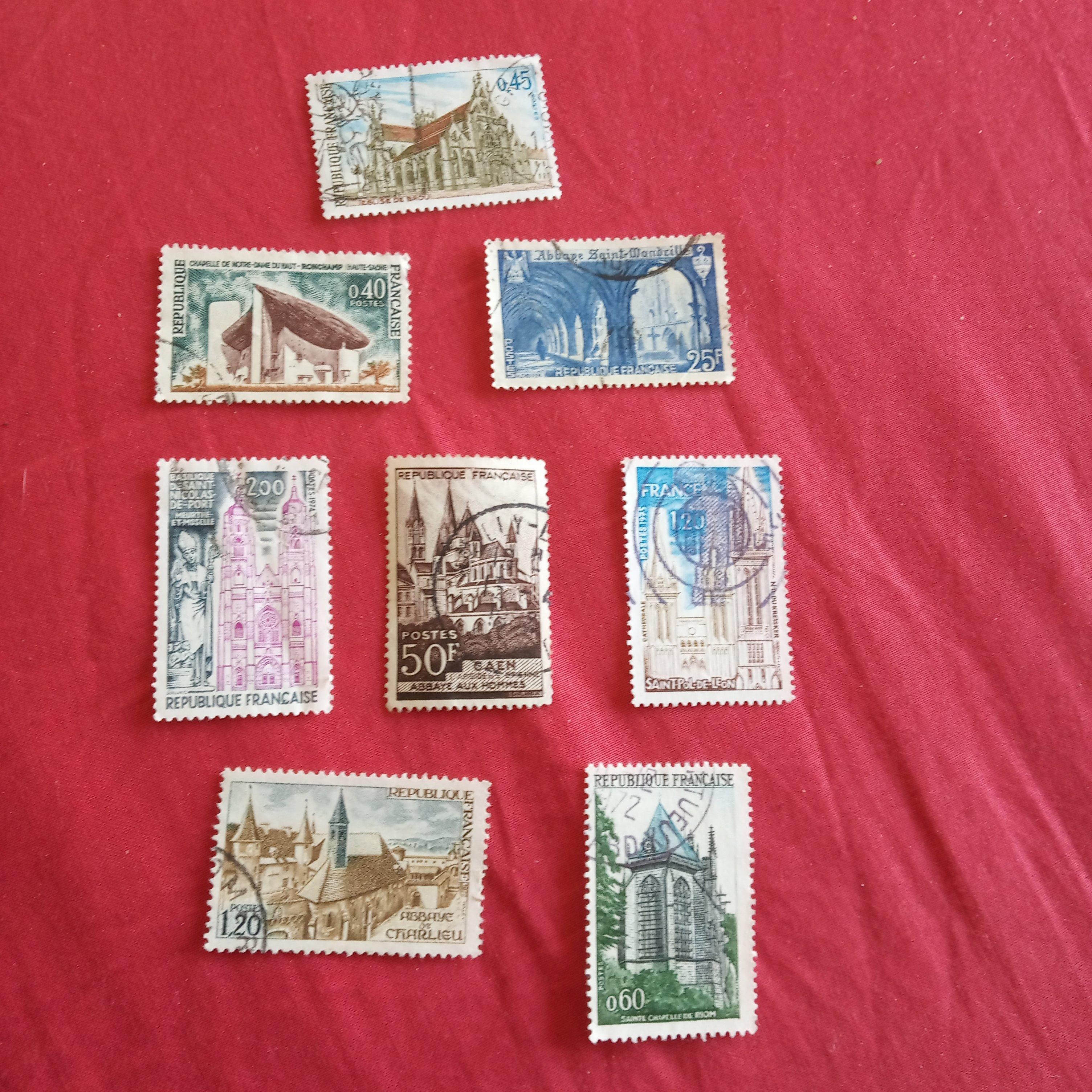 troc de troc lot timbre lieux religieux 3 image 0