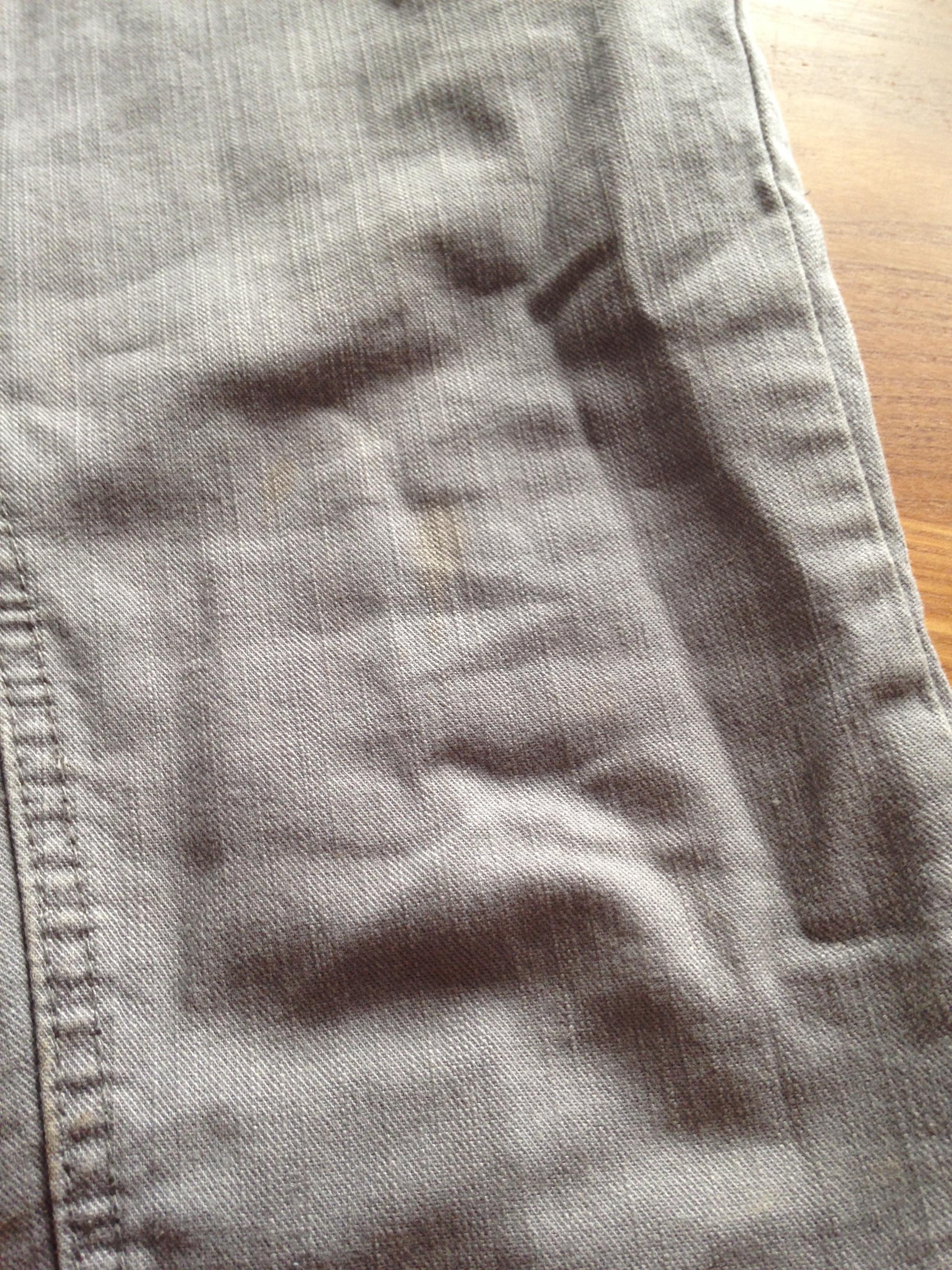 troc de troc jean gris t34/36 image 1