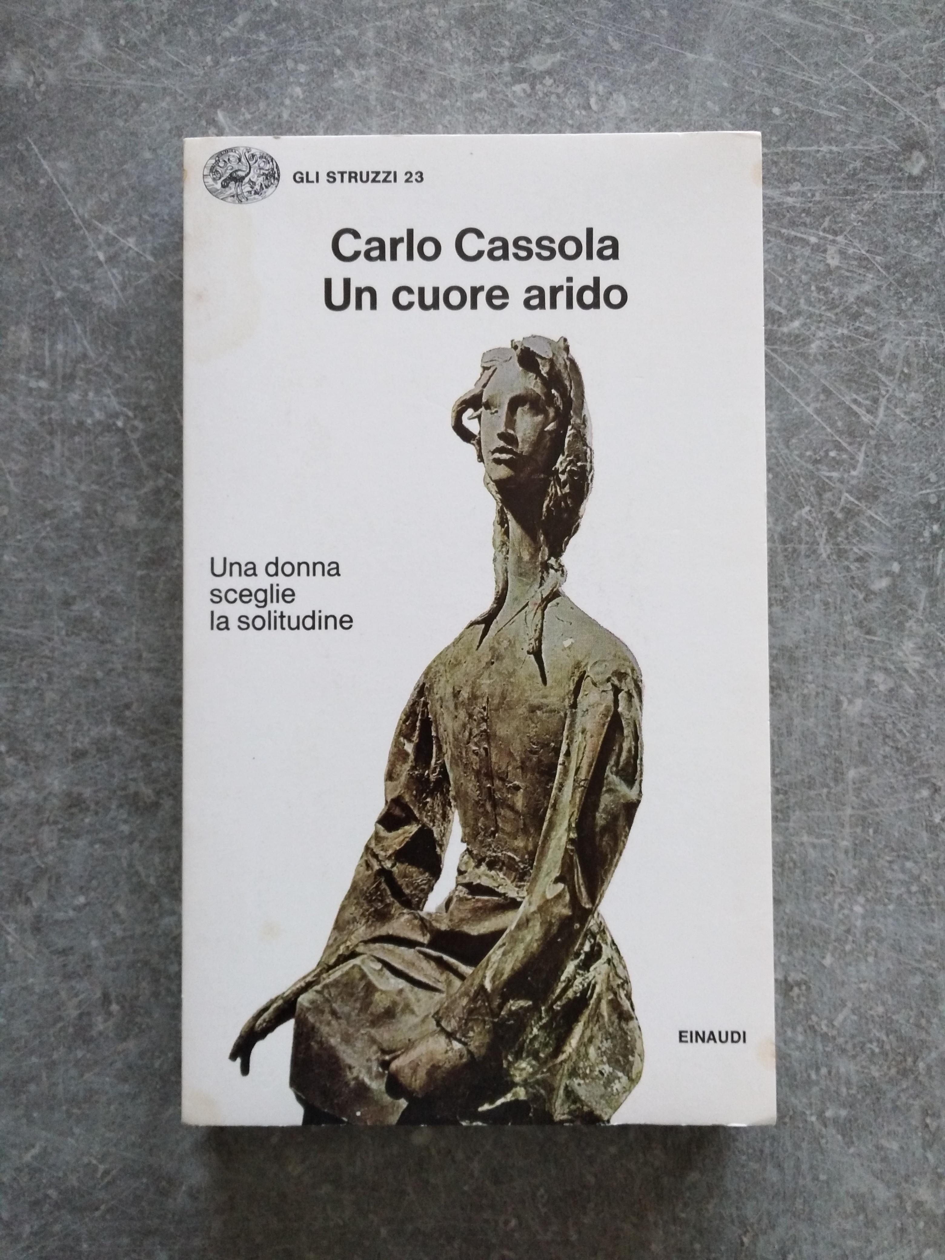 troc de troc livre un cuore arido en langue italienne de carlo cassola image 0