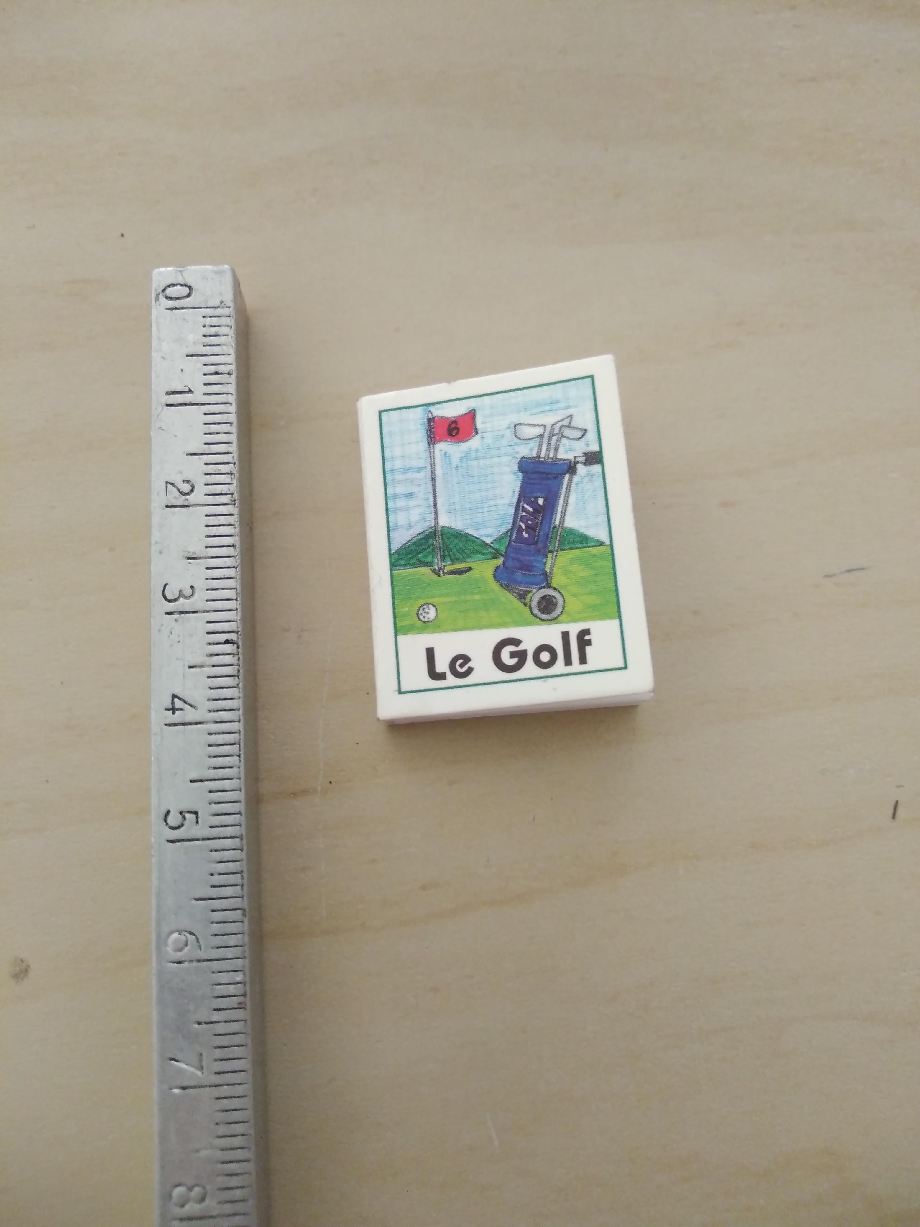 troc de troc mini livres golf image 0