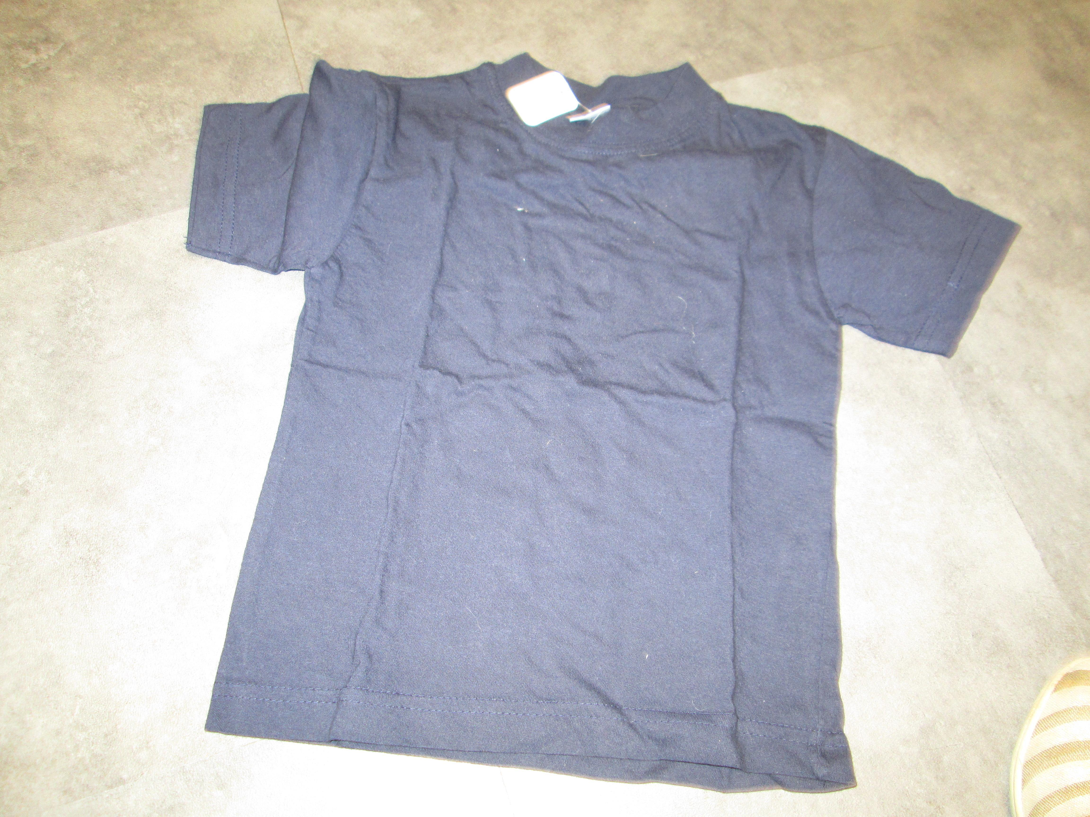troc de troc tee  shirt  bleu marine 3 ans 3 noisettes image 0
