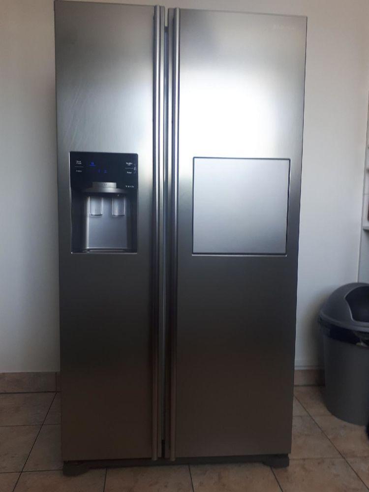 troc de troc donne un réfrigérateur américain en état fonctionnel image 1
