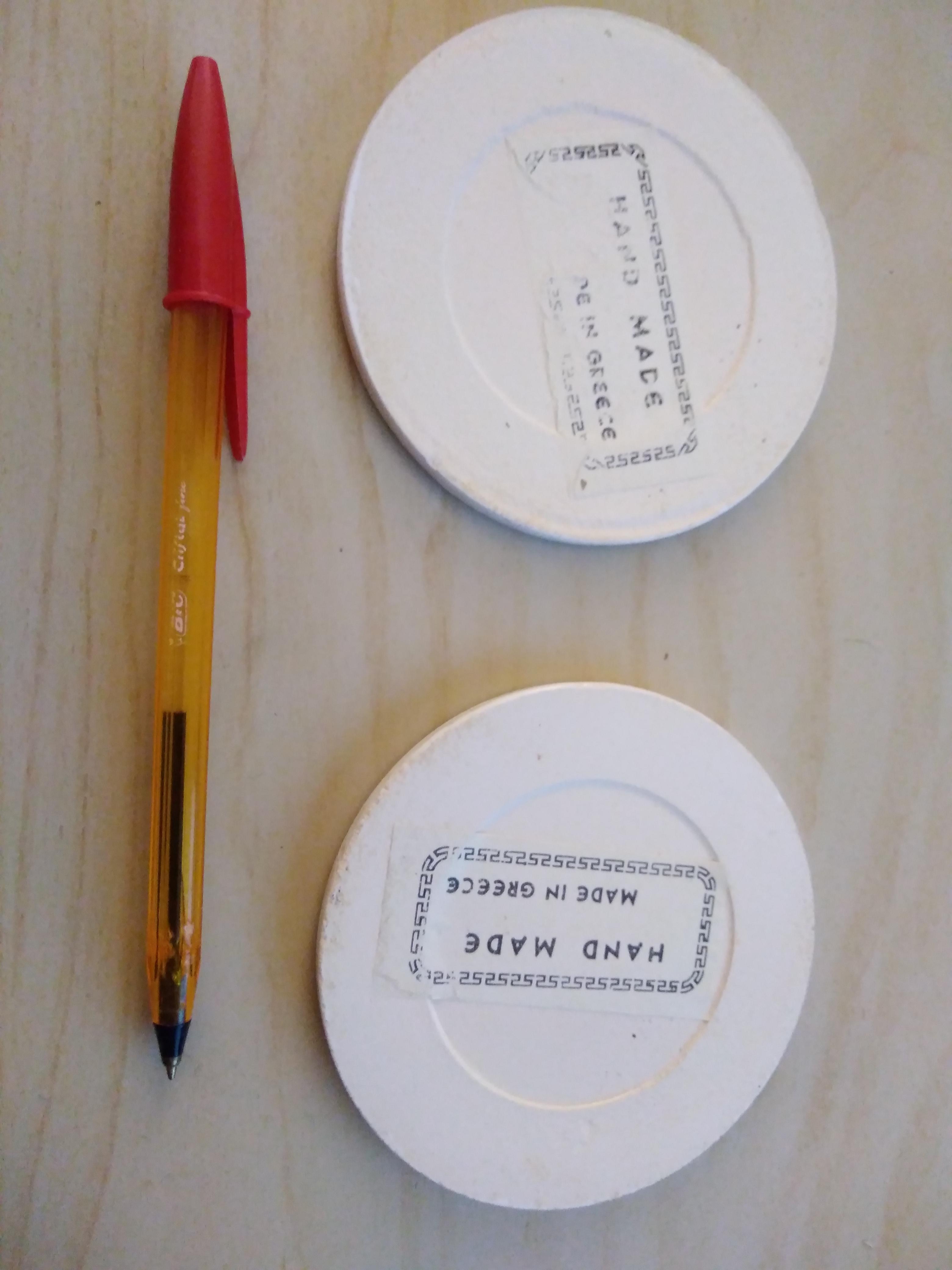 troc de troc résa calinou 02 / 2 petits dessous de plat céramique image 1